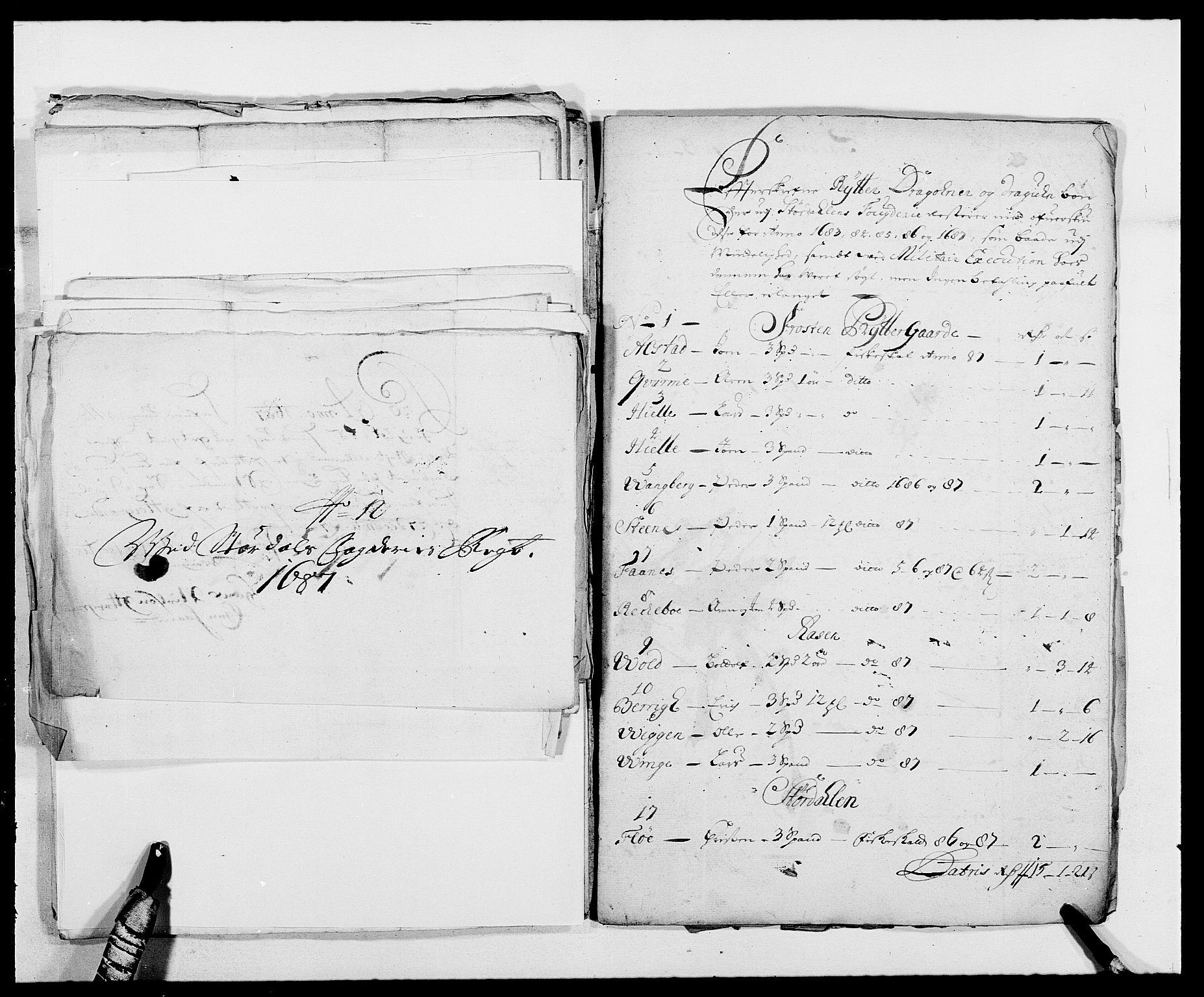 RA, Rentekammeret inntil 1814, Reviderte regnskaper, Fogderegnskap, R62/L4183: Fogderegnskap Stjørdal og Verdal, 1687-1689, s. 186