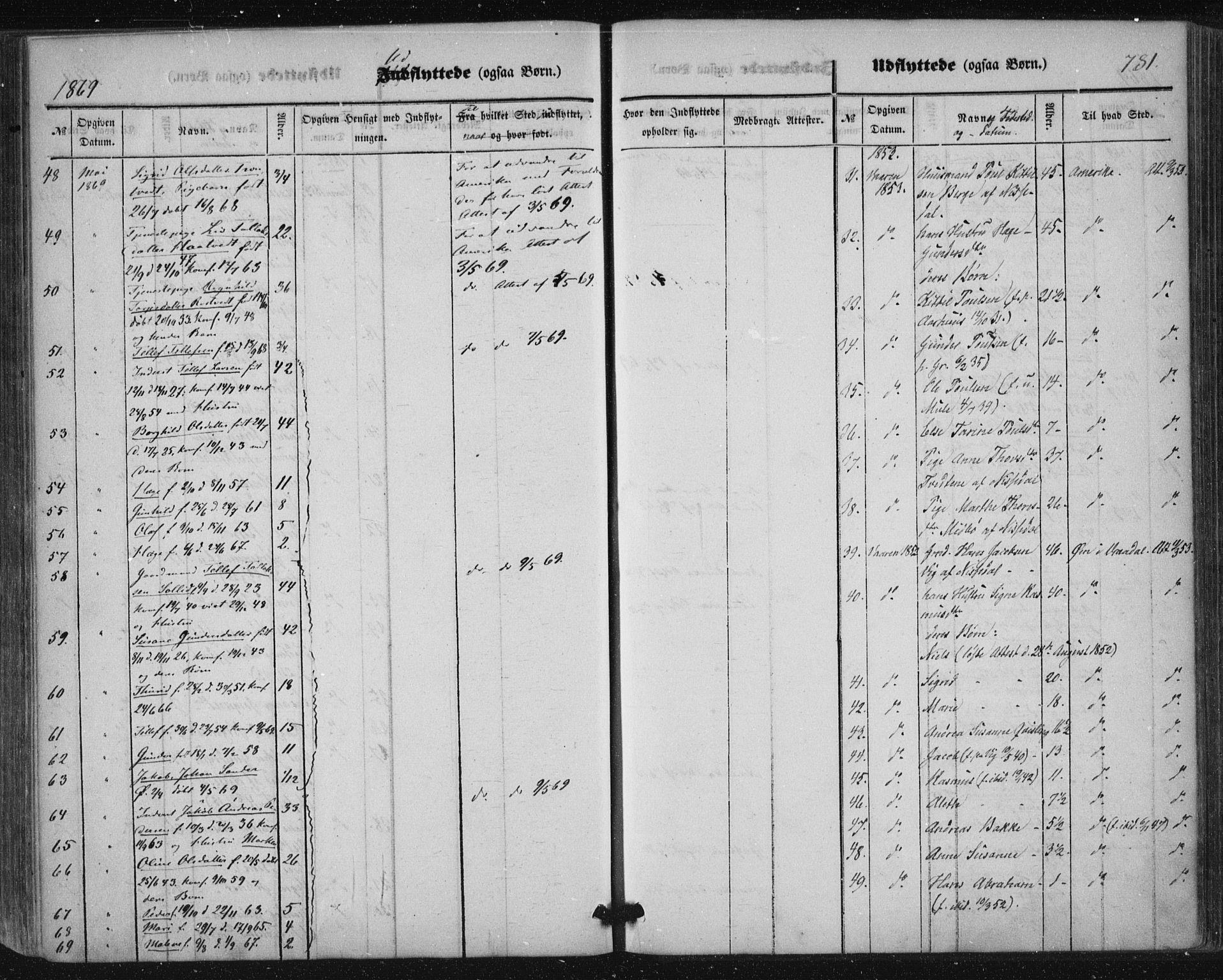 SAKO, Nissedal kirkebøker, F/Fa/L0003: Ministerialbok nr. I 3, 1846-1870, s. 780-781