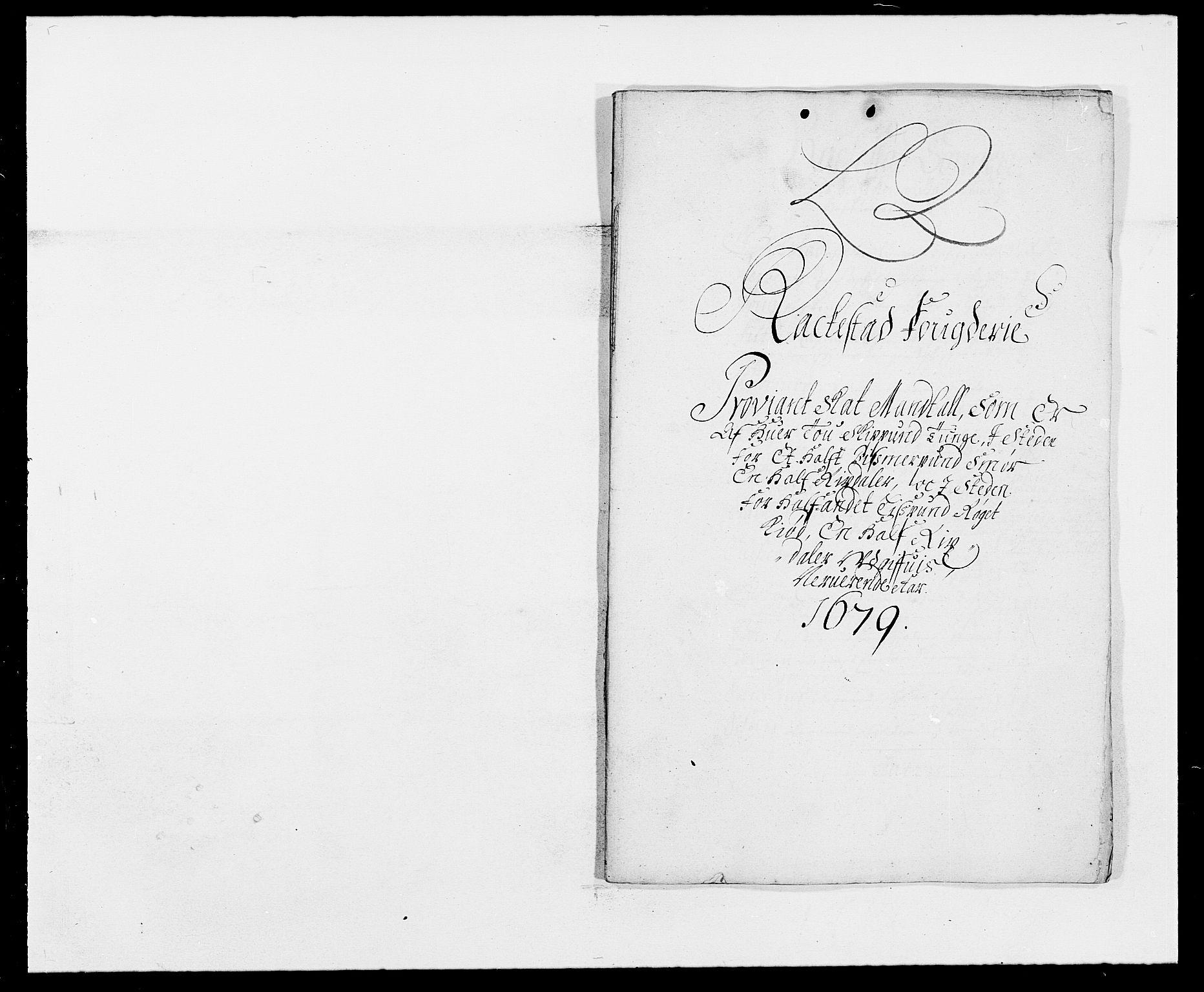 RA, Rentekammeret inntil 1814, Reviderte regnskaper, Fogderegnskap, R05/L0271: Fogderegnskap Rakkestad, 1678-1679, s. 362