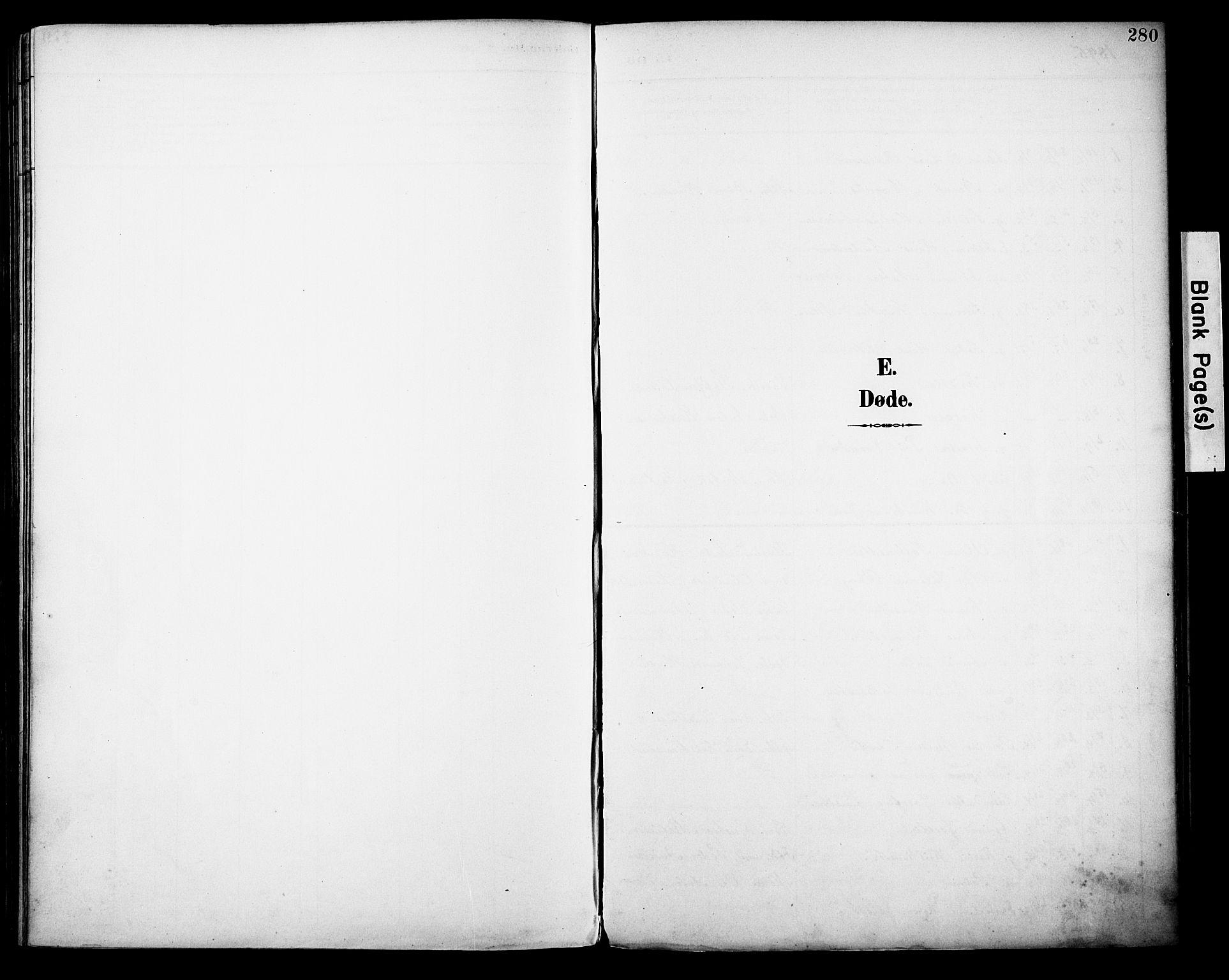 SAH, Vestre Toten prestekontor, H/Ha/Haa/L0013: Ministerialbok nr. 13, 1895-1911, s. 280