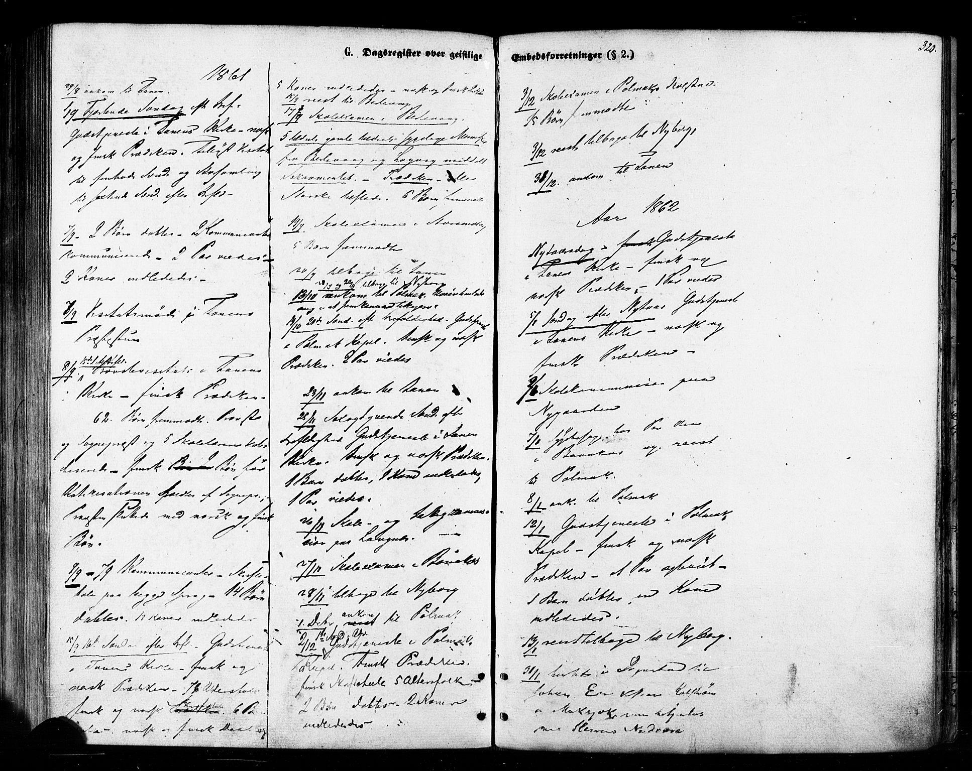 SATØ, Tana sokneprestkontor, H/Ha/L0002kirke: Ministerialbok nr. 2 /1, 1861-1877, s. 320