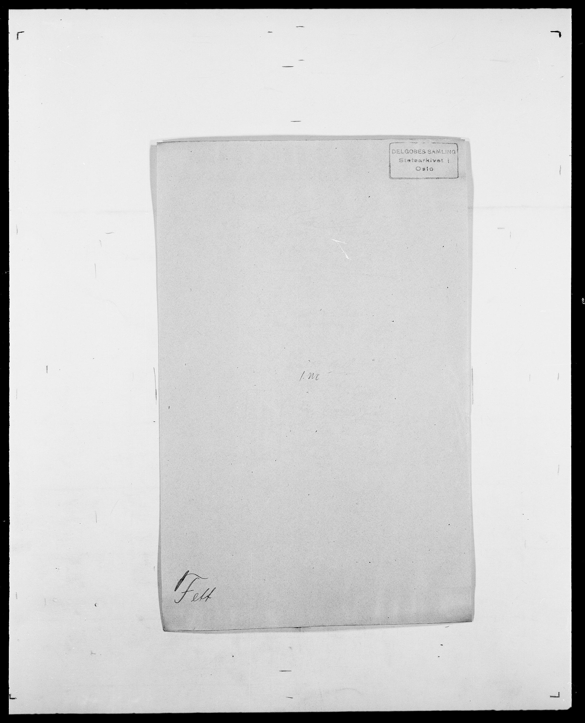 SAO, Delgobe, Charles Antoine - samling, D/Da/L0011: Fahlander - Flood, Flod, s. 400