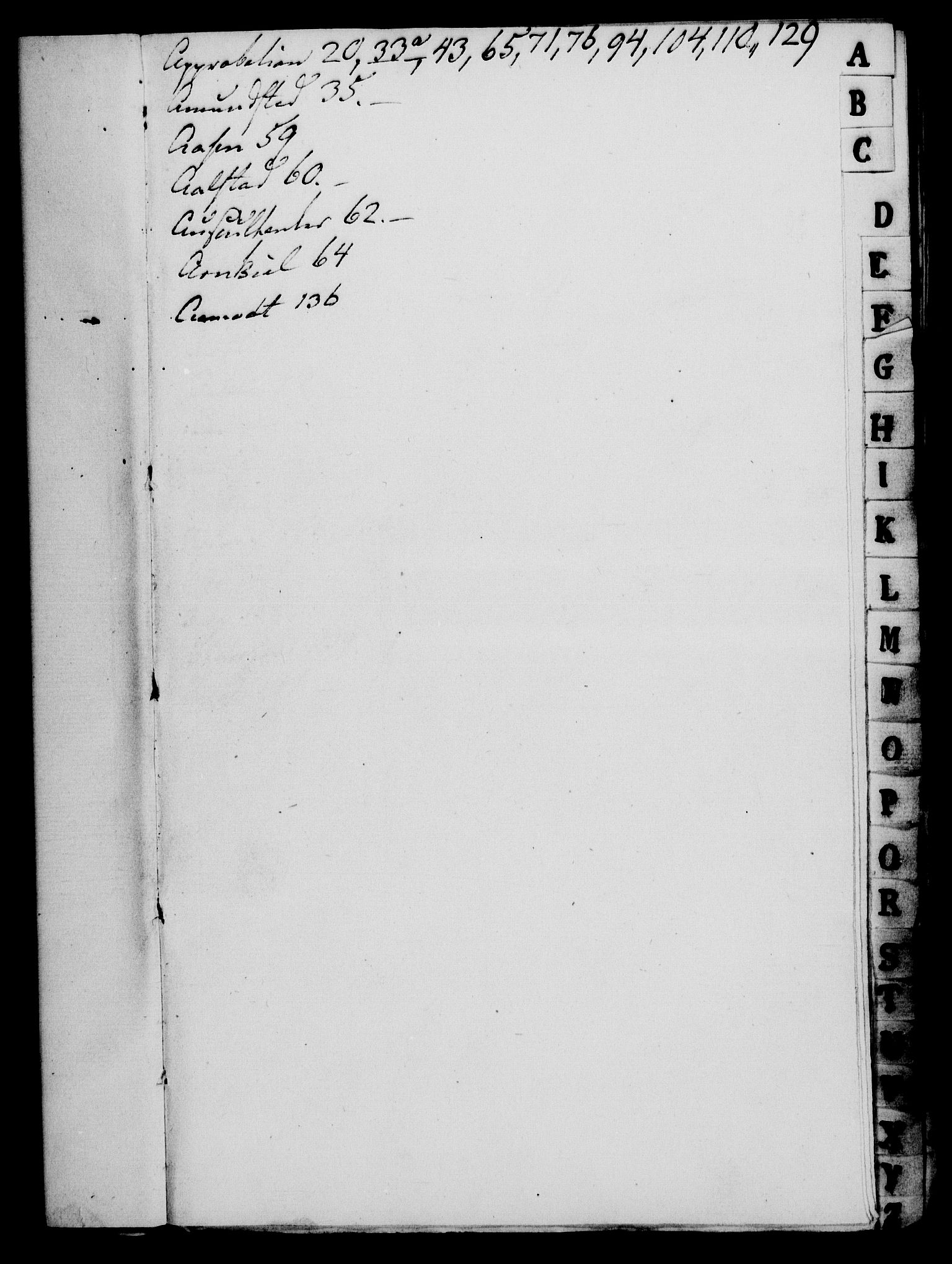 RA, Rentekammeret, Kammerkanselliet, G/Gf/Gfa/L0067: Norsk relasjons- og resolusjonsprotokoll (merket RK 52.67), 1785, s. 3