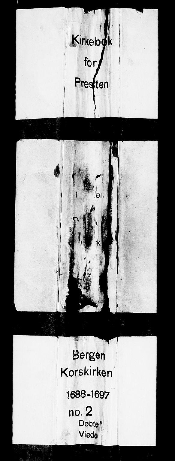 SAB, Korskirken Sokneprestembete, H/Haa/L0002: Ministerialbok nr. A 2, 1688-1697