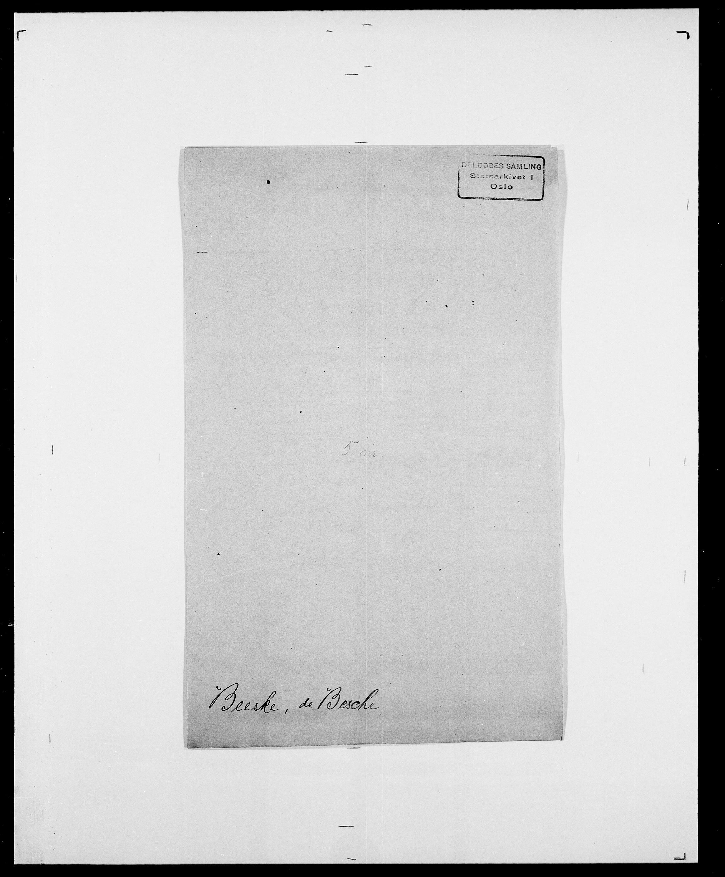 SAO, Delgobe, Charles Antoine - samling, D/Da/L0003: Barca - Bergen, s. 643