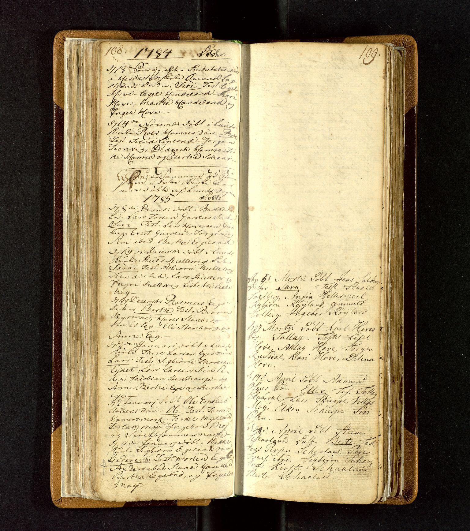 SAST, Lund sokneprestkontor, Ministerialbok nr. A 3, 1761-1801, s. 108-109