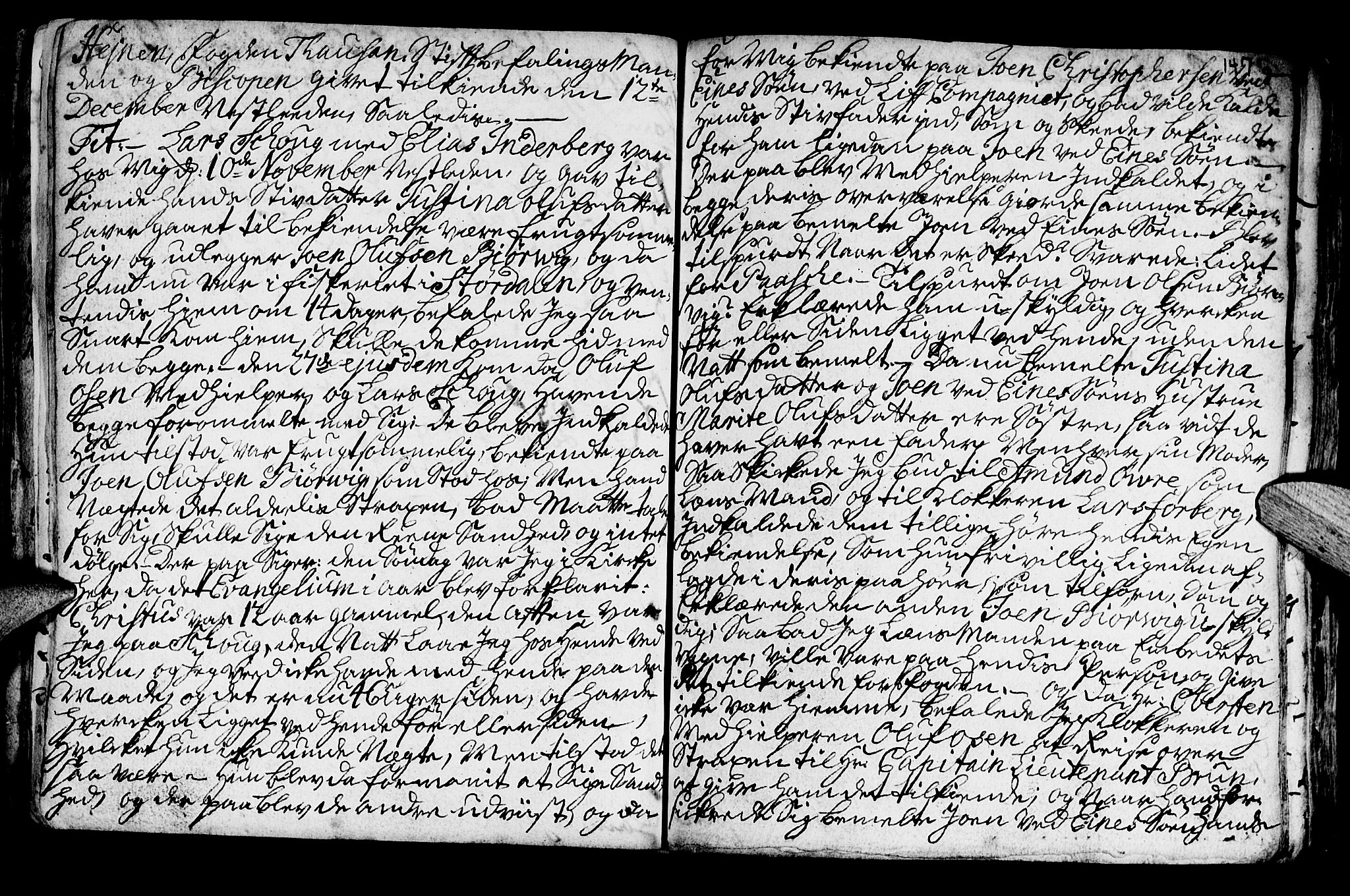 SAT, Ministerialprotokoller, klokkerbøker og fødselsregistre - Nord-Trøndelag, 722/L0215: Ministerialbok nr. 722A02, 1718-1755, s. 147