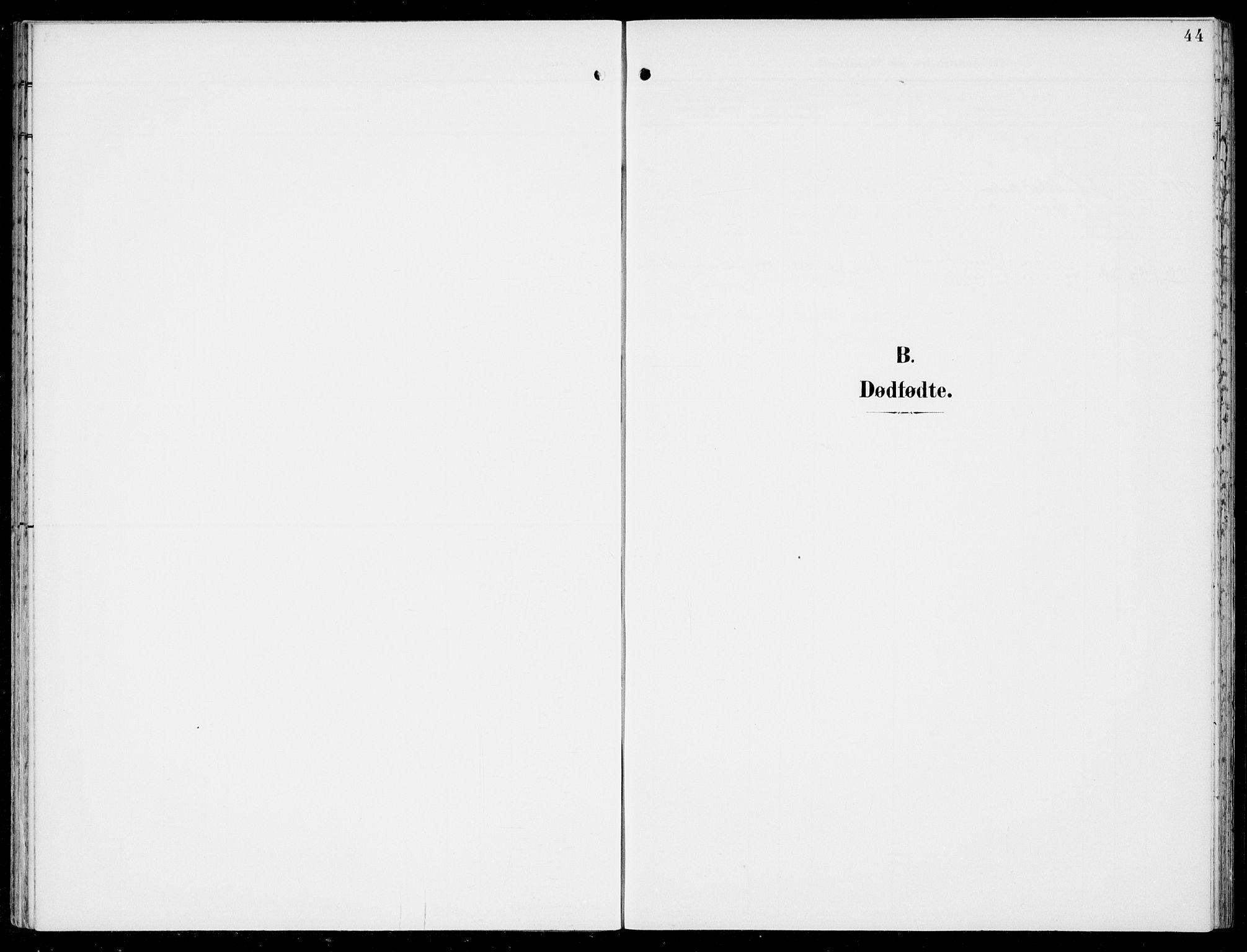 SAB, Hosanger Sokneprestembete, H/Haa: Ministerialbok nr. C  2, 1901-1925, s. 44