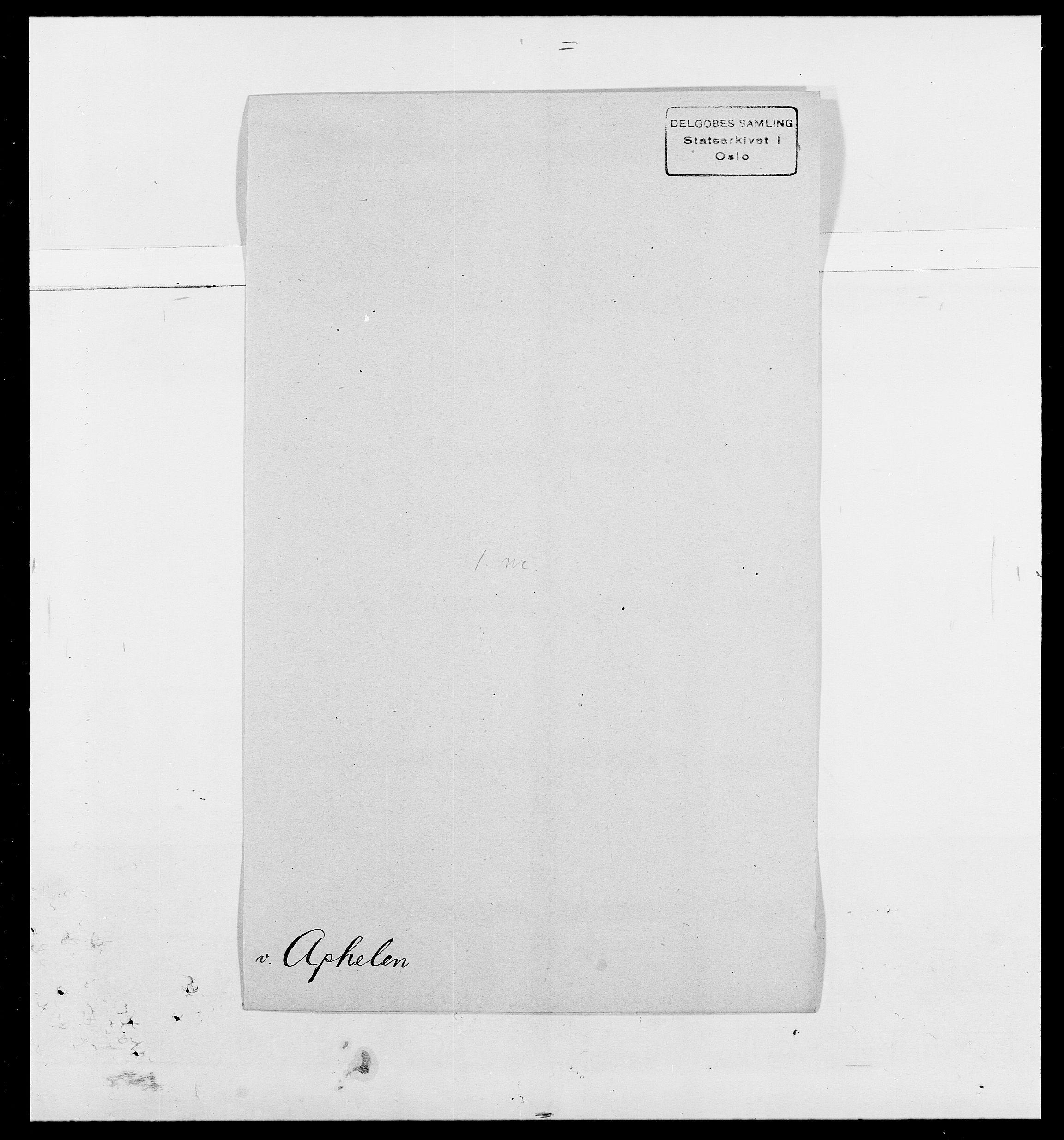 SAO, Delgobe, Charles Antoine - samling, D/Da/L0002: Anker, Ancher - Bauner, s. 210