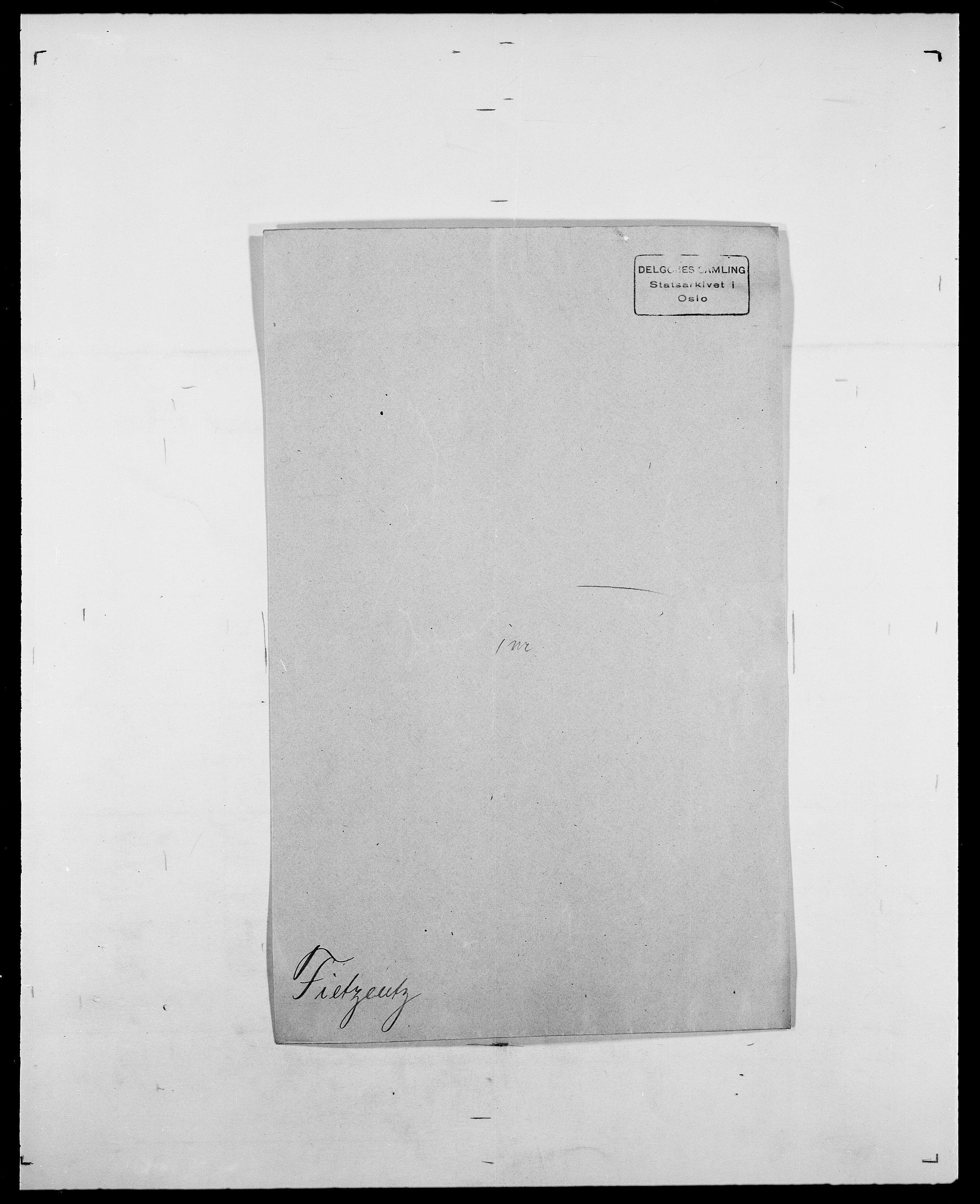 SAO, Delgobe, Charles Antoine - samling, D/Da/L0011: Fahlander - Flood, Flod, s. 419