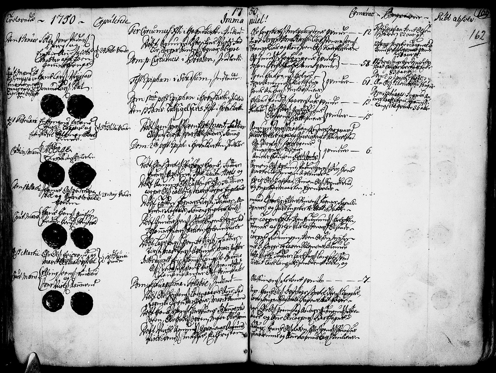 SAH, Gausdal prestekontor, Ministerialbok nr. 2, 1729-1757, s. 162