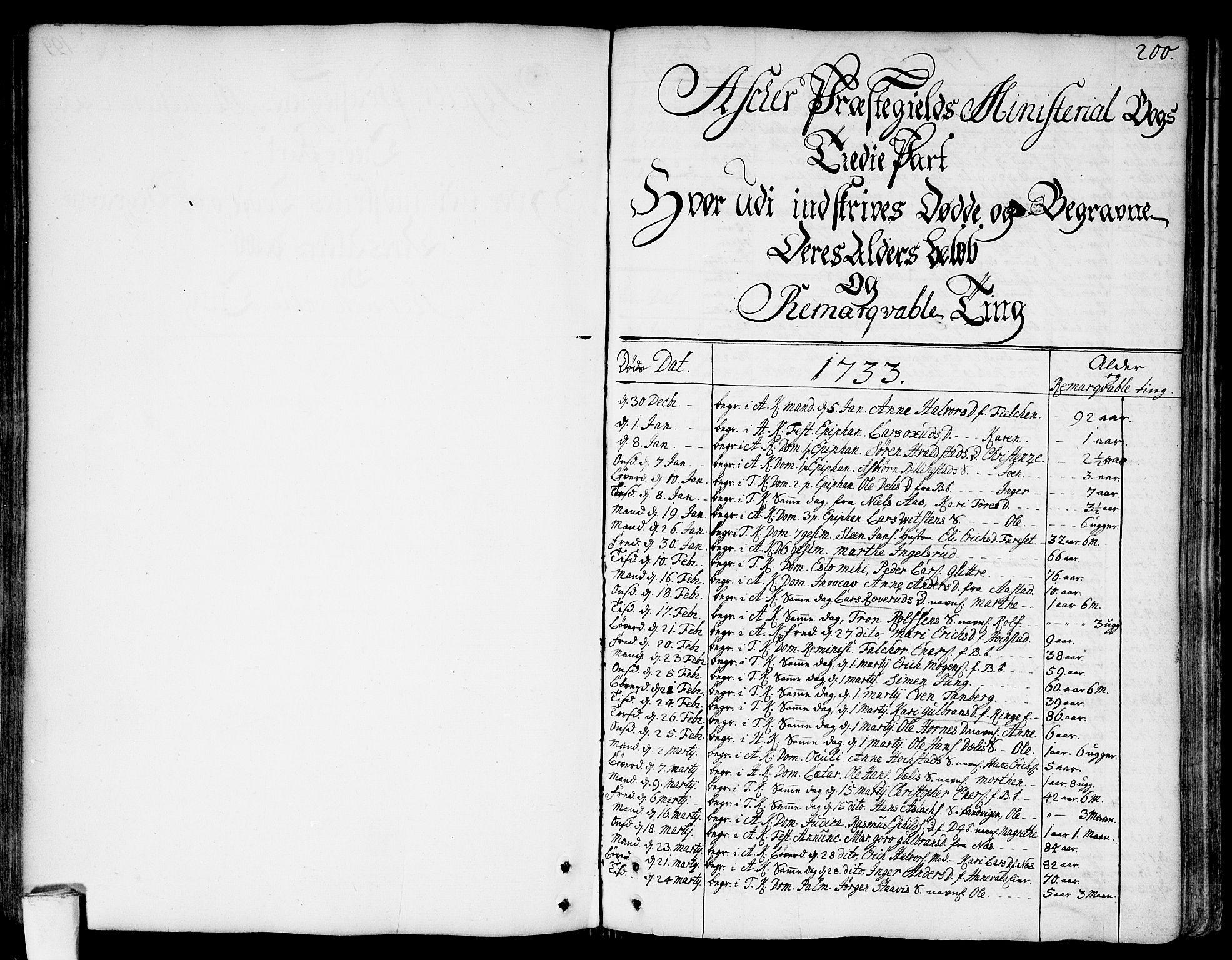 SAO, Asker prestekontor Kirkebøker, F/Fa/L0002: Ministerialbok nr. I 2, 1733-1766, s. 200