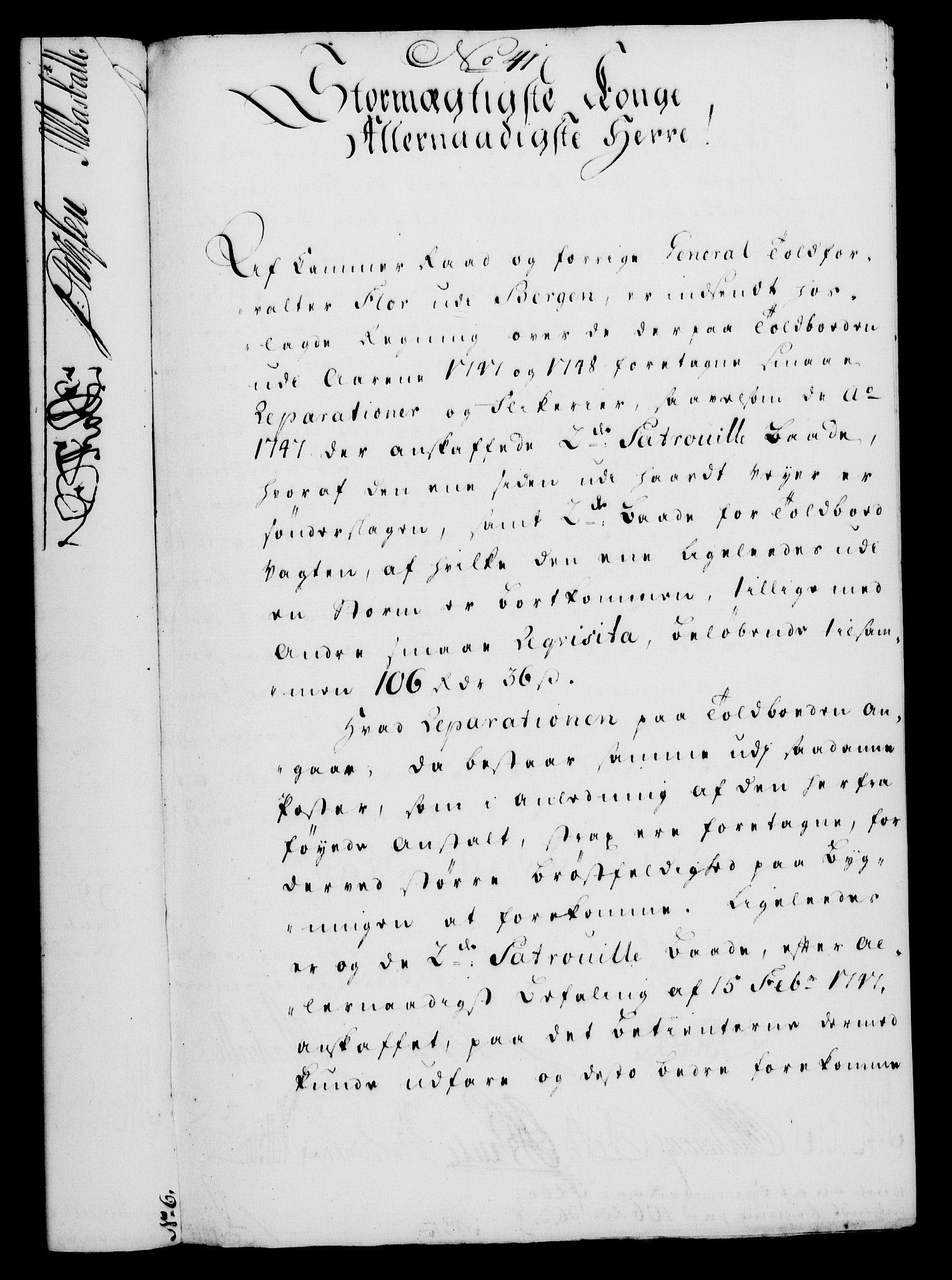 RA, Rentekammeret, Kammerkanselliet, G/Gf/Gfa/L0031: Norsk relasjons- og resolusjonsprotokoll (merket RK 52.31), 1749, s. 230