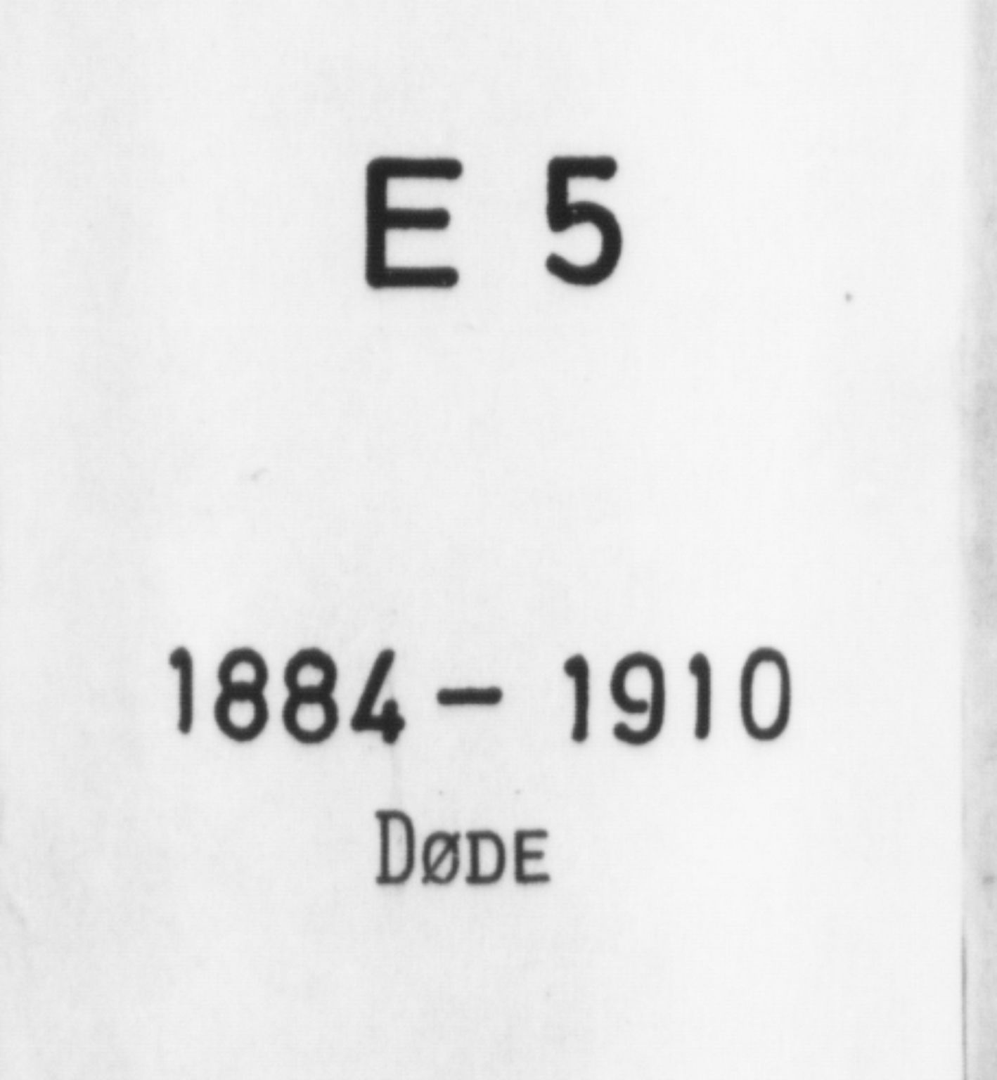 SAB, Korskirken Sokneprestembete, H/Haa/L0047: Ministerialbok nr. E 5, 1884-1910