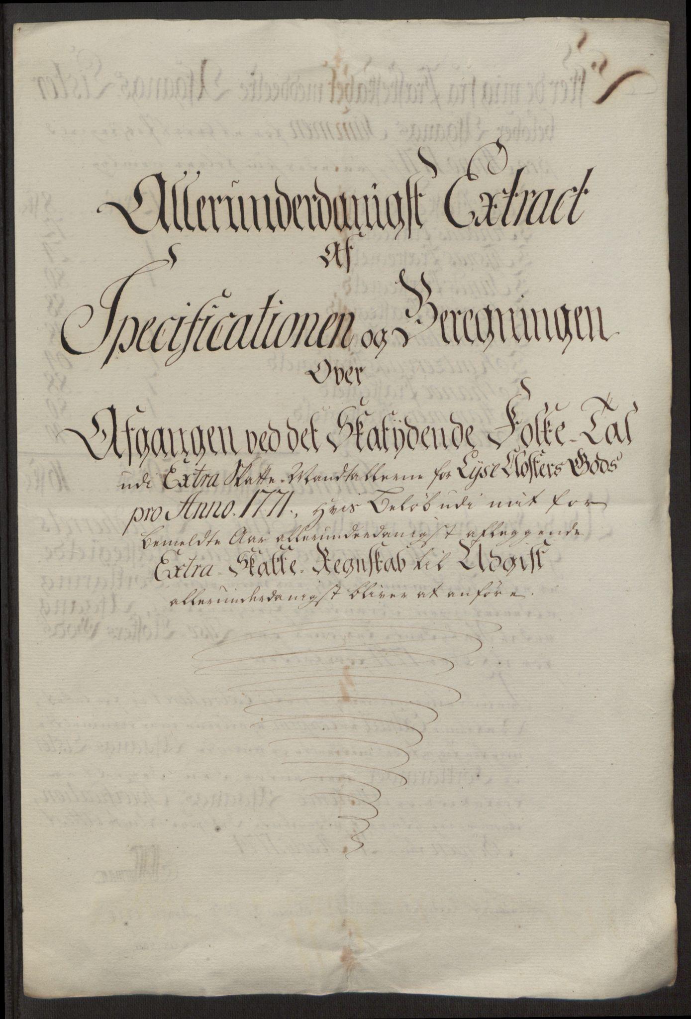 RA, Rentekammeret inntil 1814, Reviderte regnskaper, Fogderegnskap, R50/L3180: Ekstraskatten Lyse kloster, 1762-1783, s. 259