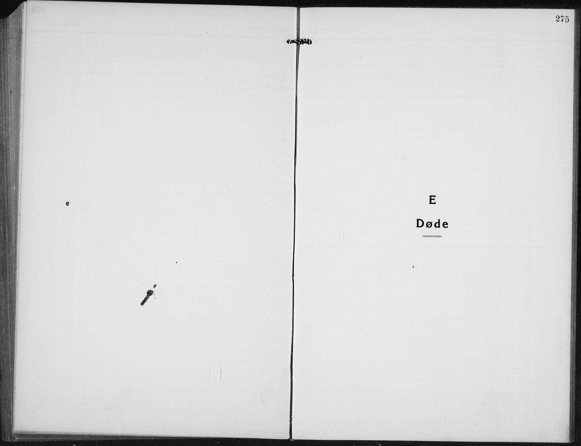 SAH, Vardal prestekontor, H/Ha/Hab/L0017: Klokkerbok nr. 17, 1922-1941, s. 275