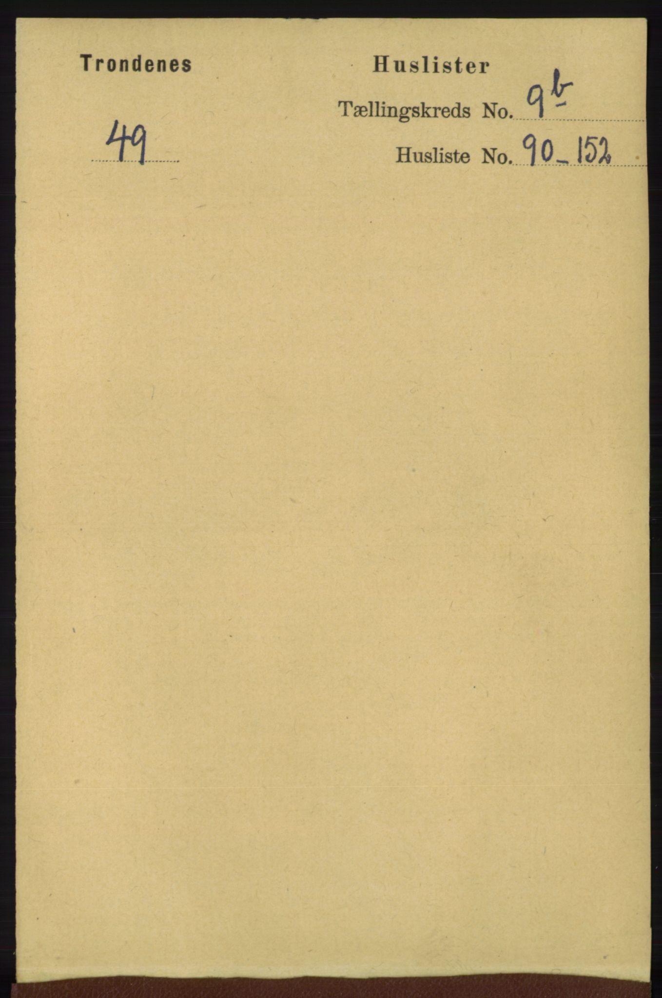 RA, Folketelling 1891 for 1914 Trondenes herred, 1891, s. 7166