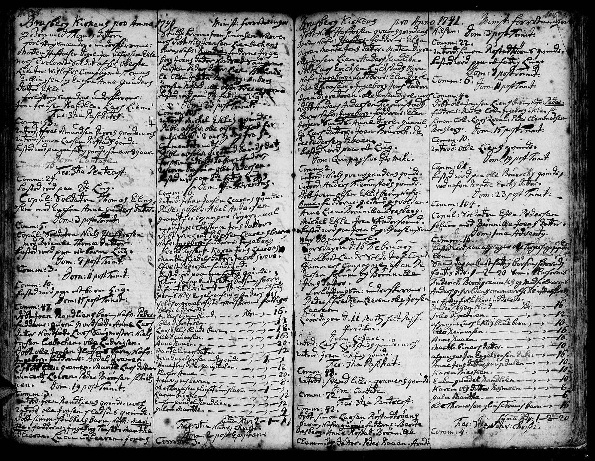 SAT, Ministerialprotokoller, klokkerbøker og fødselsregistre - Sør-Trøndelag, 606/L0278: Ministerialbok nr. 606A01 /4, 1727-1780, s. 528-529
