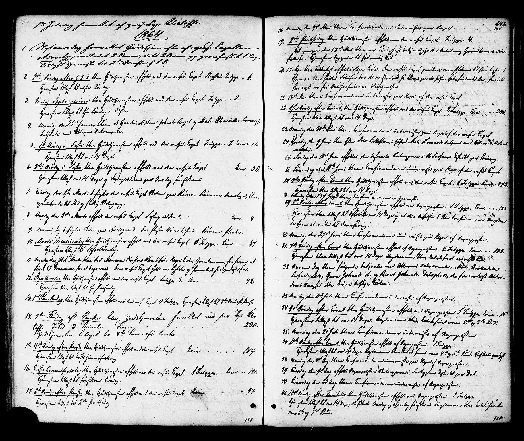 SAT, Ministerialprotokoller, klokkerbøker og fødselsregistre - Nord-Trøndelag, 703/L0029: Ministerialbok nr. 703A02, 1863-1879, s. 228