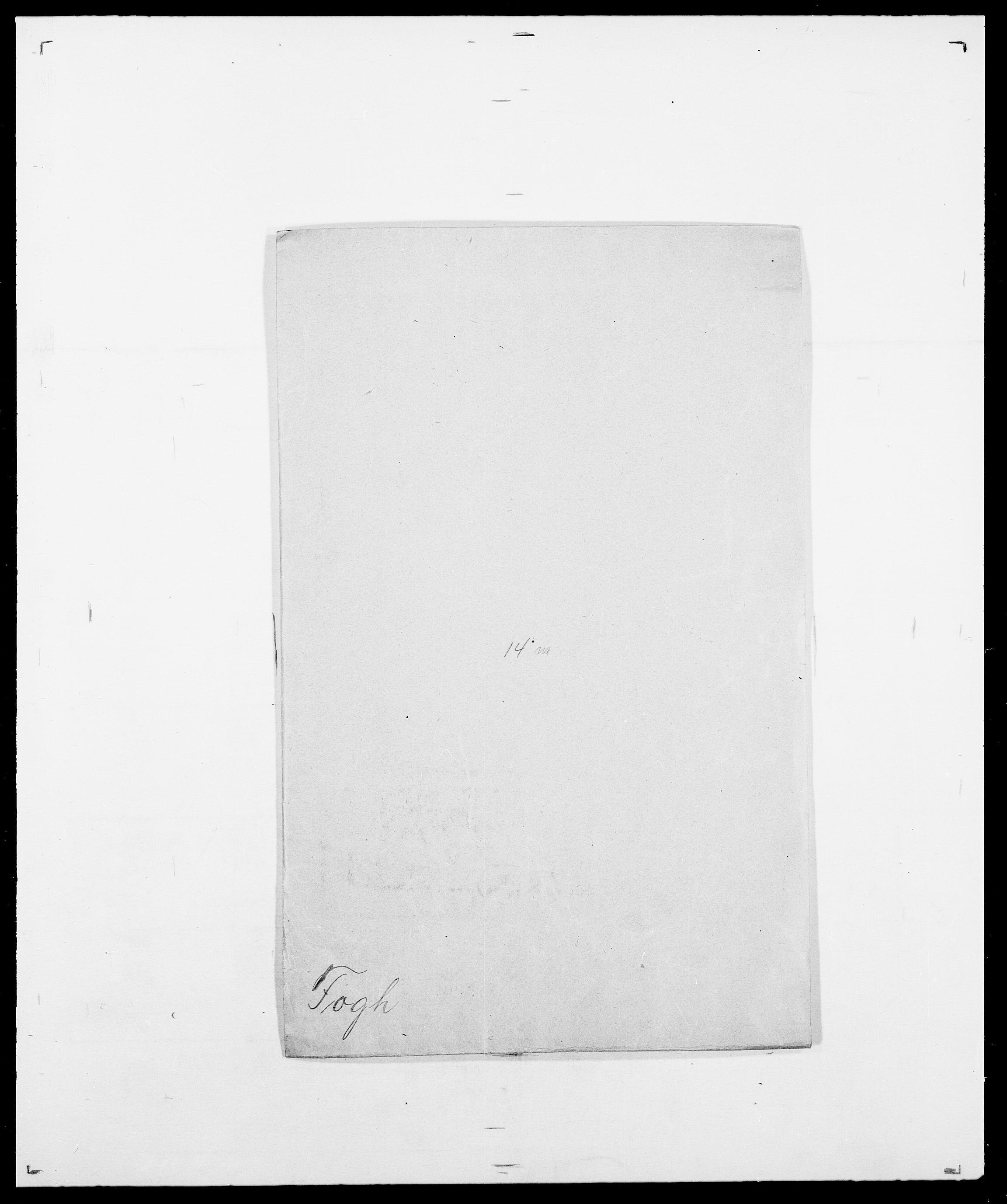 SAO, Delgobe, Charles Antoine - samling, D/Da/L0012: Flor, Floer, Flohr - Fritzner, s. 508