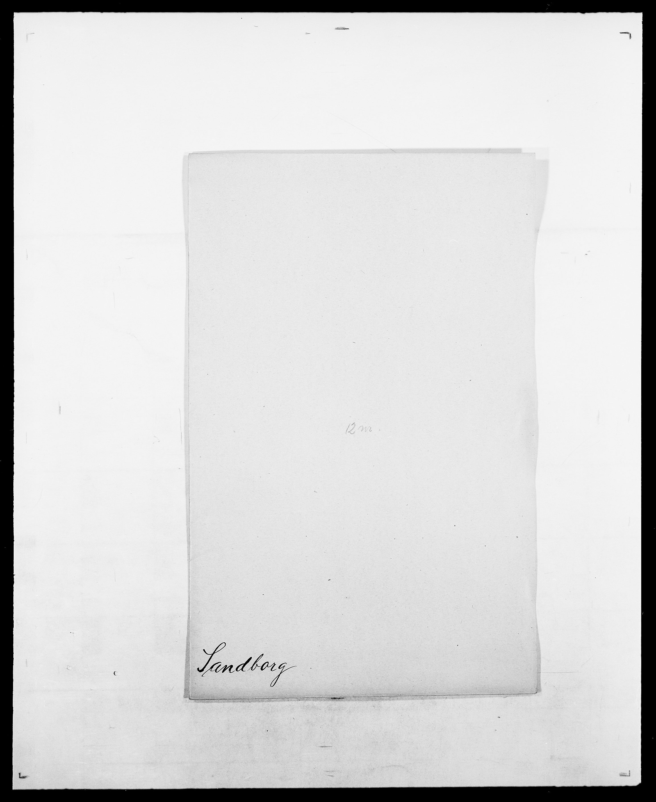 SAO, Delgobe, Charles Antoine - samling, D/Da/L0034: Saabye - Schmincke, s. 176