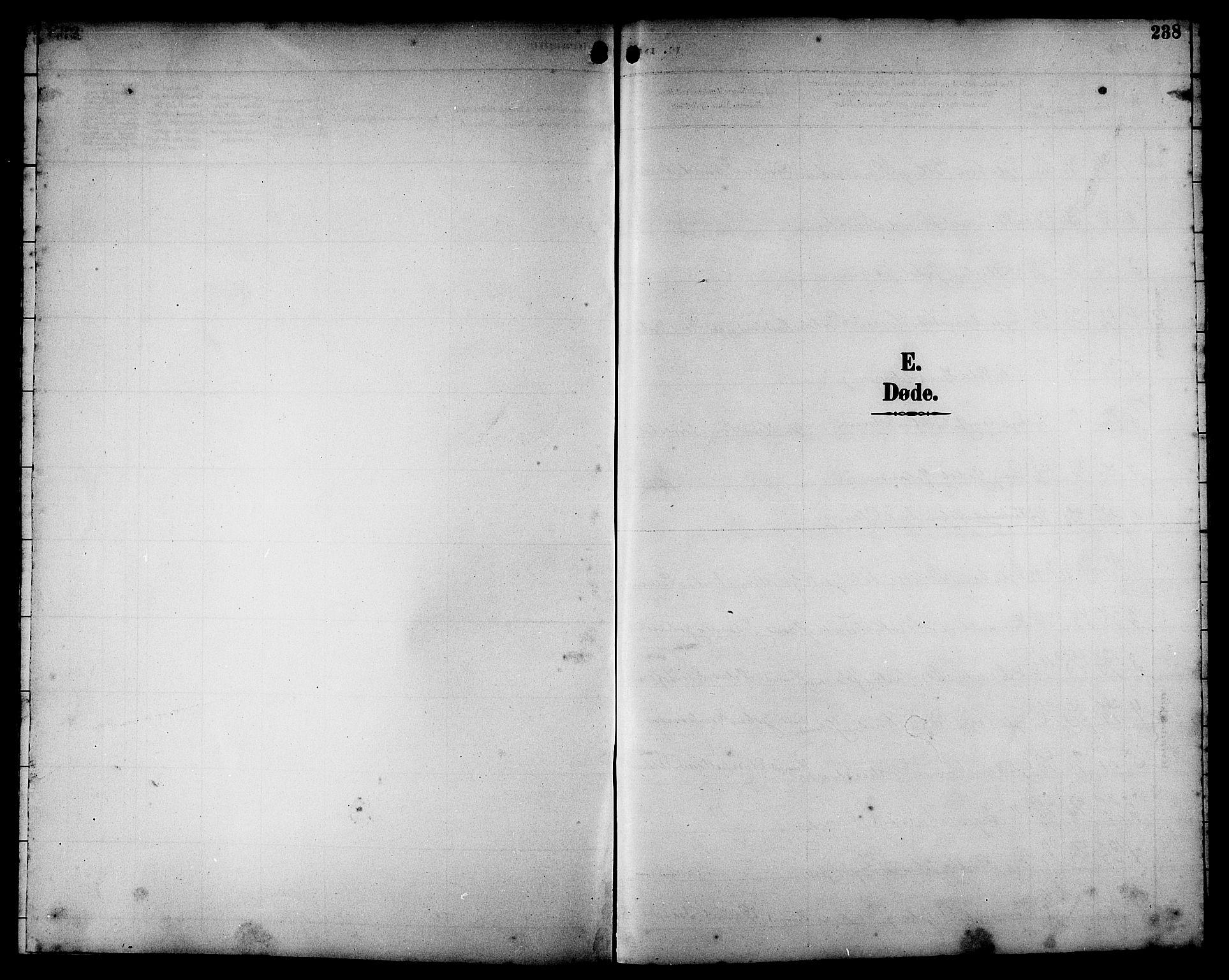 SAT, Ministerialprotokoller, klokkerbøker og fødselsregistre - Sør-Trøndelag, 662/L0757: Klokkerbok nr. 662C02, 1892-1918, s. 238