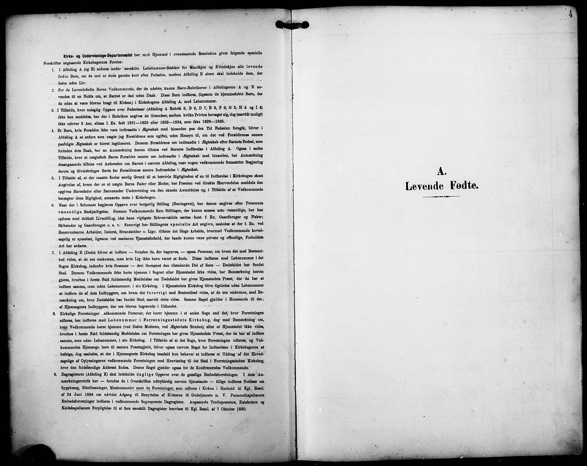 SAB, Fjell sokneprestembete, H/Hab: Klokkerbok nr. A 5, 1899-1918, s. 4