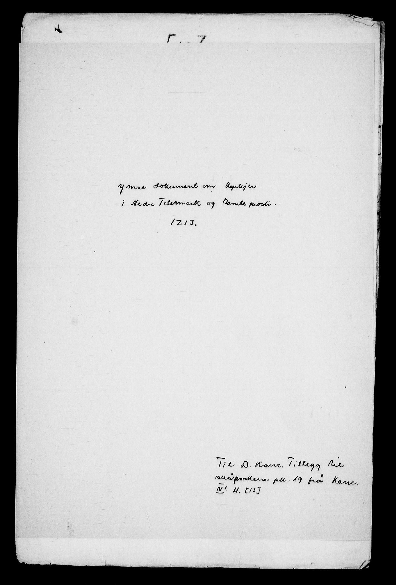RA, Danske Kanselli, Skapsaker, G/L0019: Tillegg til skapsakene, 1616-1753, s. 382