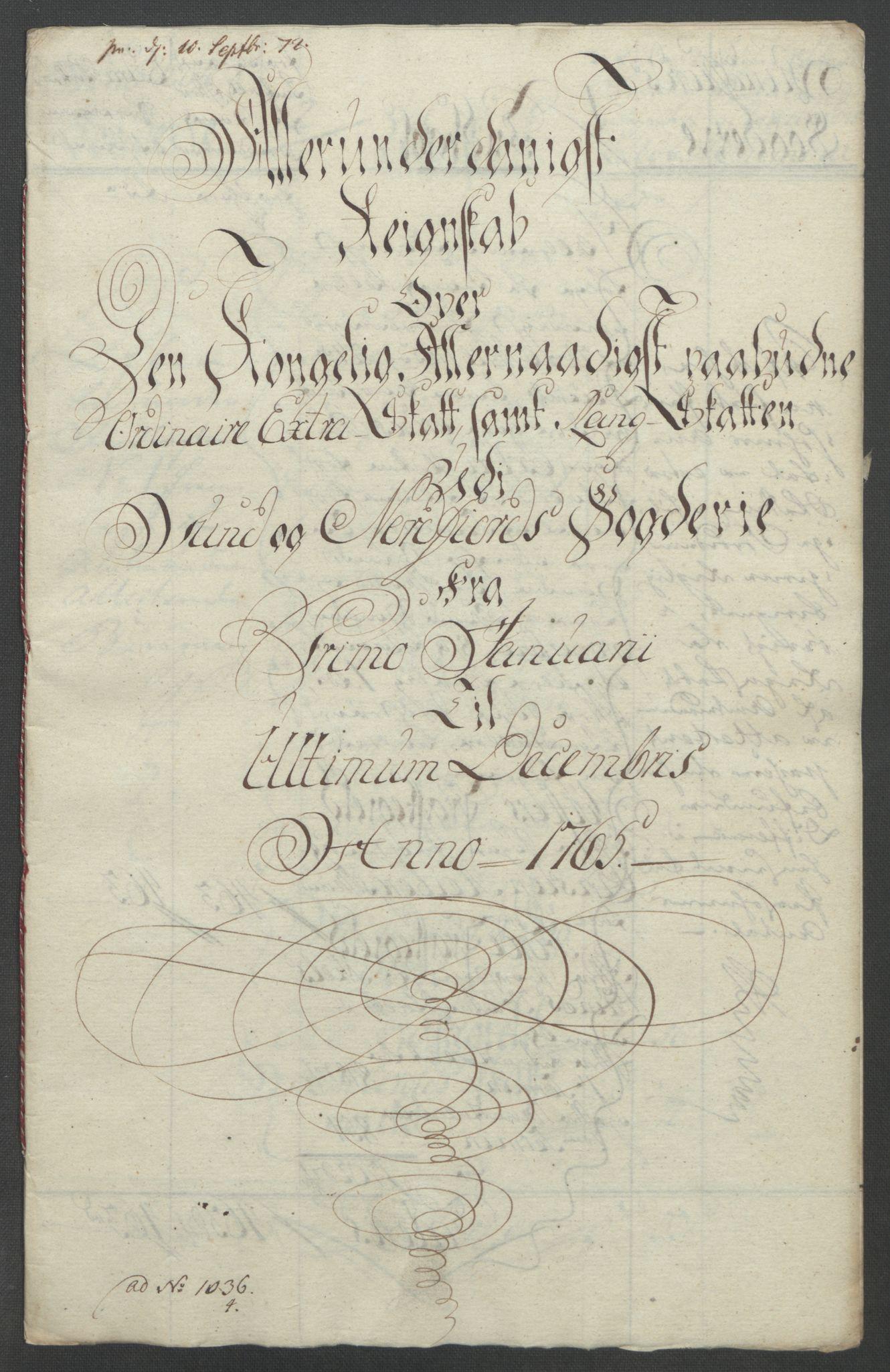 RA, Rentekammeret inntil 1814, Reviderte regnskaper, Fogderegnskap, R53/L3550: Ekstraskatten Sunn- og Nordfjord, 1762-1771, s. 136