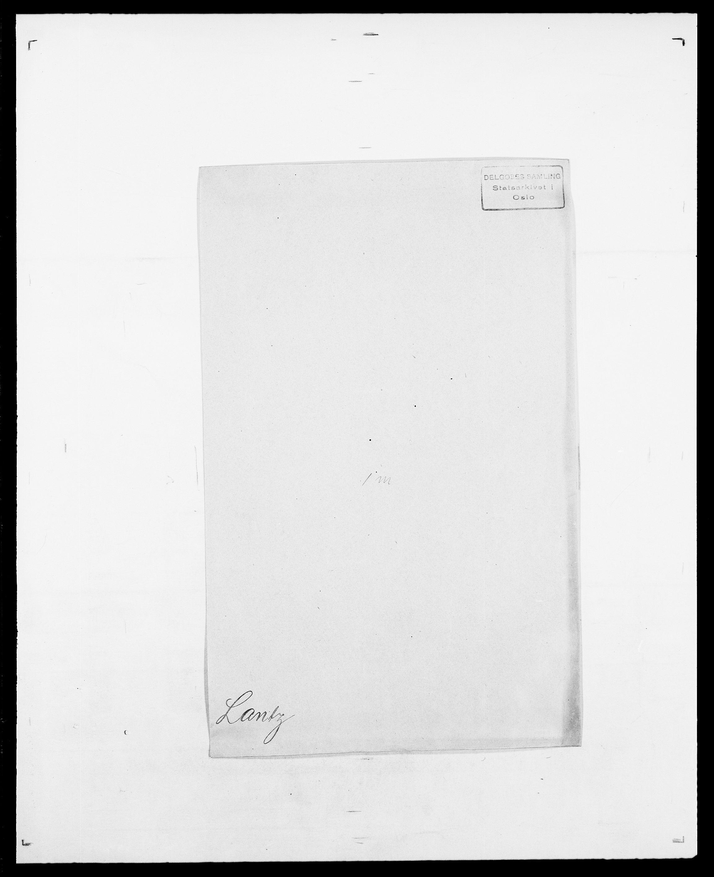 SAO, Delgobe, Charles Antoine - samling, D/Da/L0022: Krog - Lasteen, s. 716