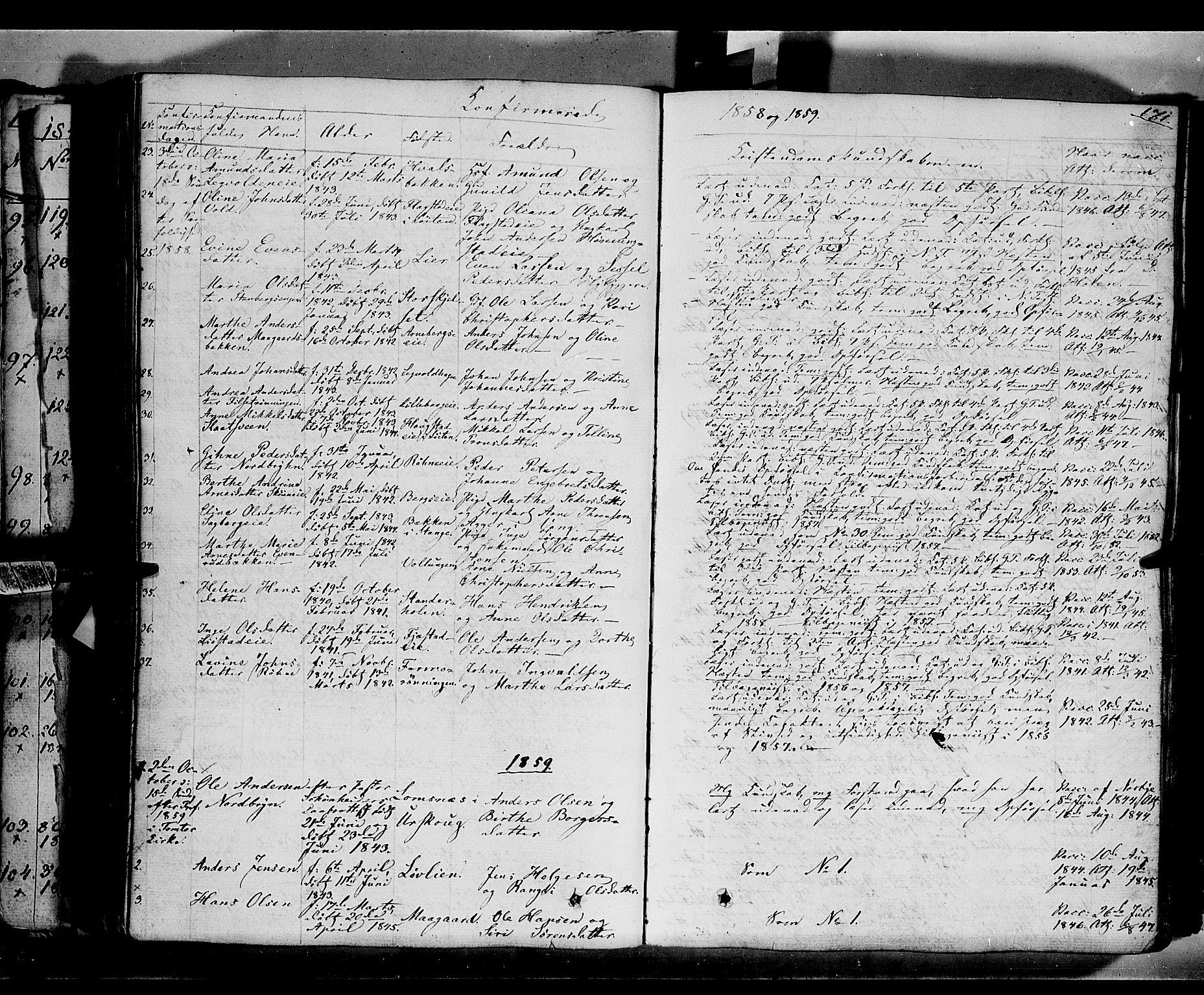 SAH, Romedal prestekontor, K/L0004: Ministerialbok nr. 4, 1847-1861, s. 171