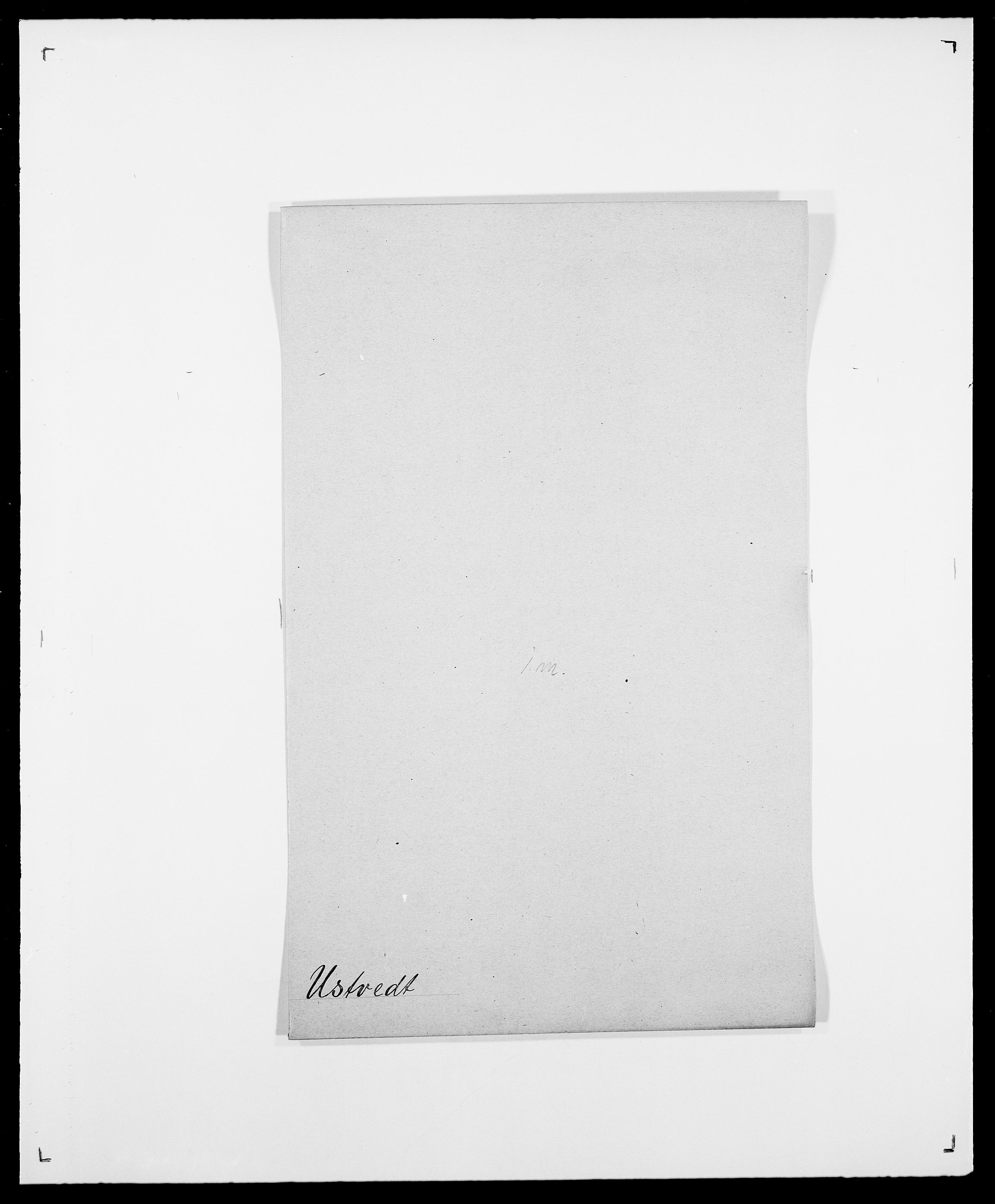 SAO, Delgobe, Charles Antoine - samling, D/Da/L0040: Usgaard - Velund, s. 13