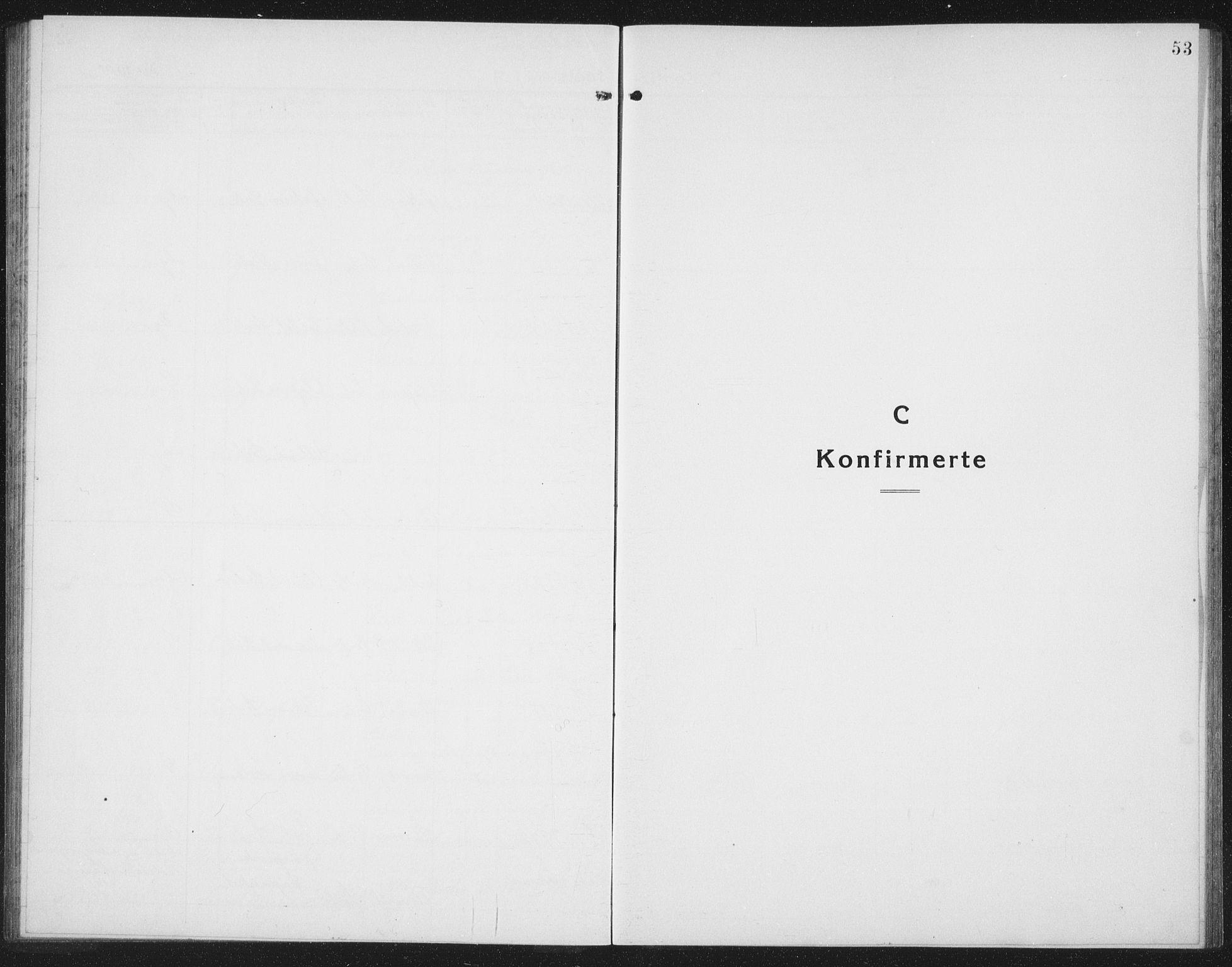 SAT, Ministerialprotokoller, klokkerbøker og fødselsregistre - Nord-Trøndelag, 757/L0507: Klokkerbok nr. 757C02, 1923-1939, s. 53