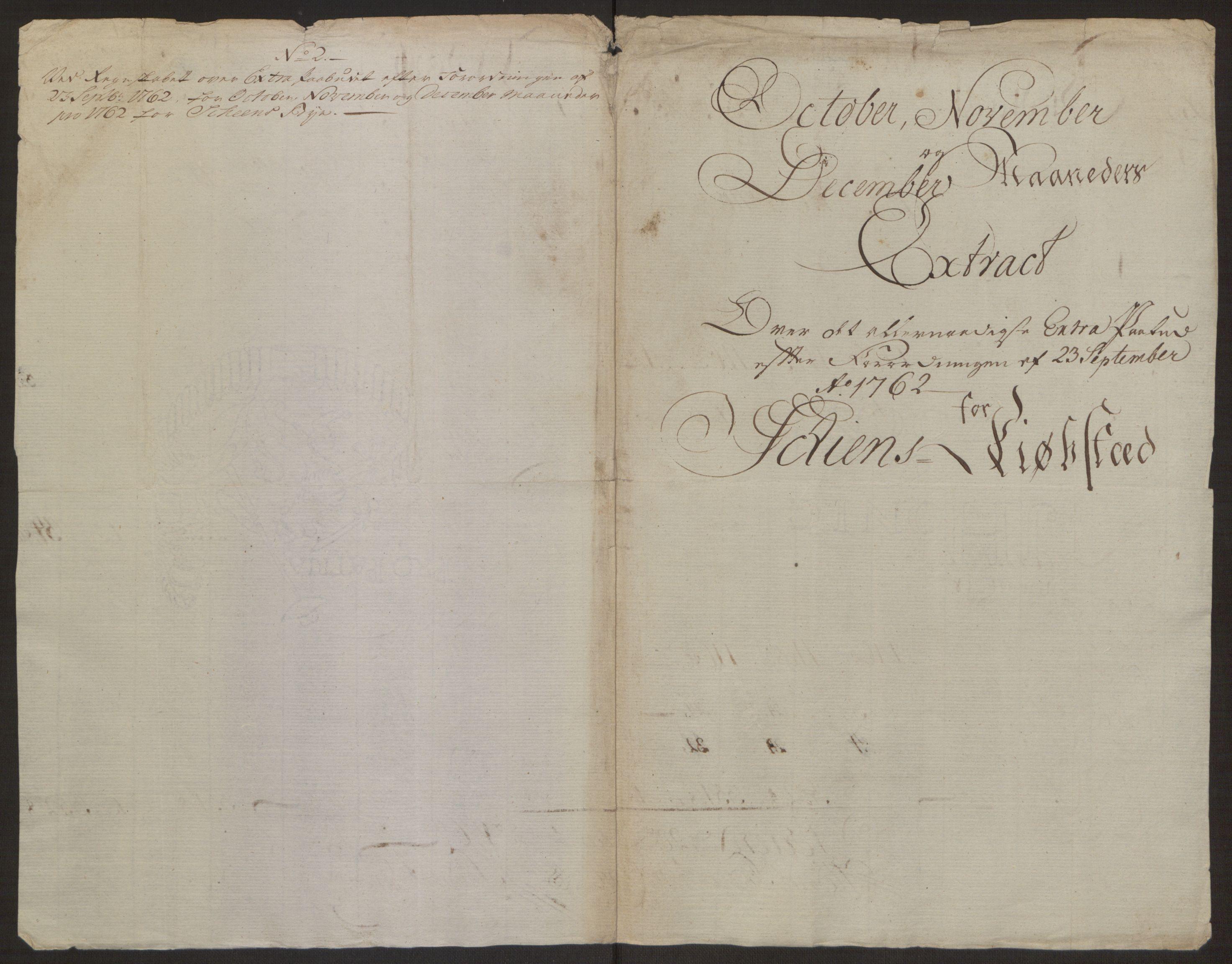 RA, Rentekammeret inntil 1814, Reviderte regnskaper, Byregnskaper, R/Rj/L0198: [J4] Kontribusjonsregnskap, 1762-1768, s. 89