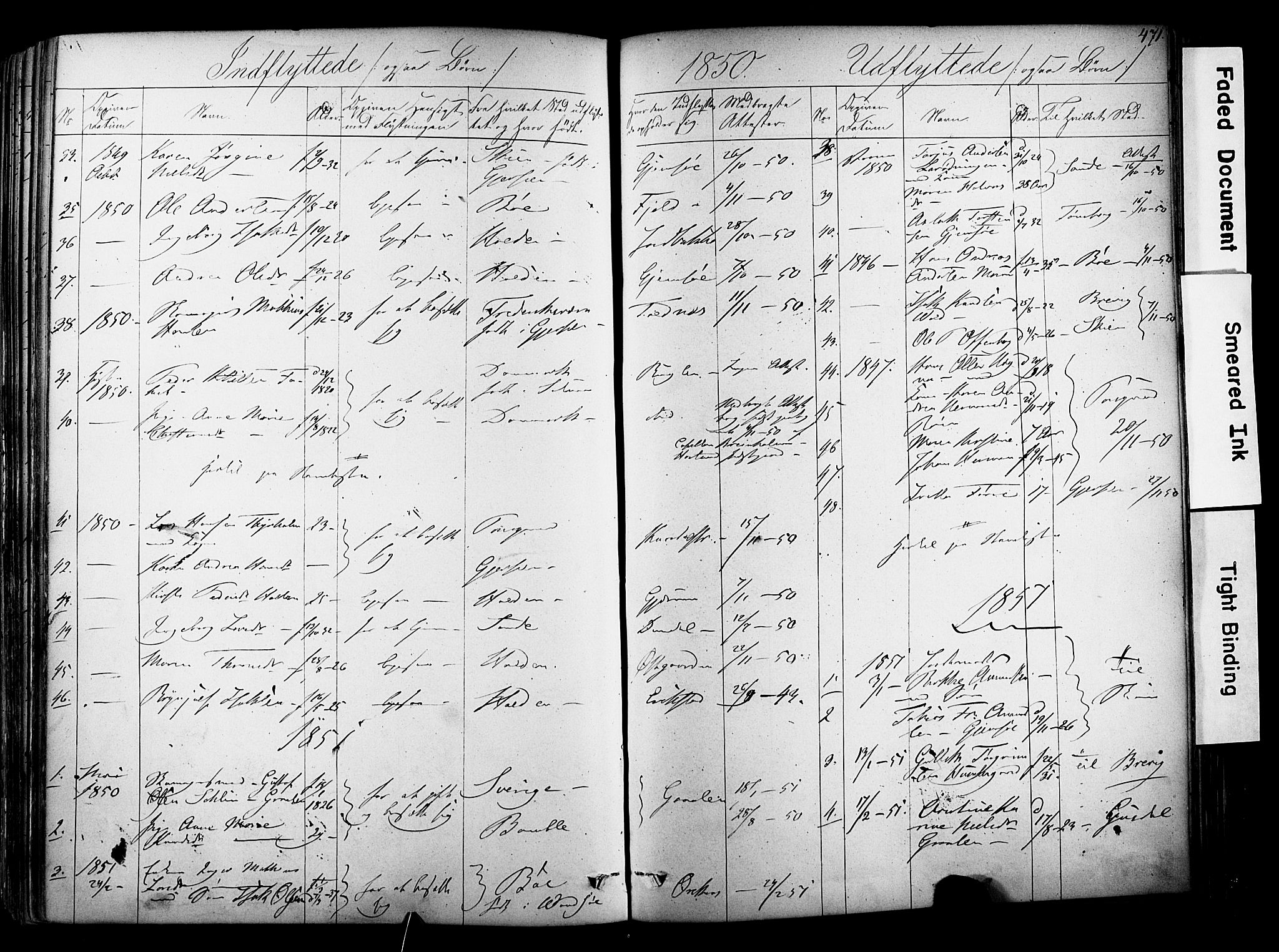 SAKO, Solum kirkebøker, F/Fa/L0006: Ministerialbok nr. I 6, 1844-1855, s. 471