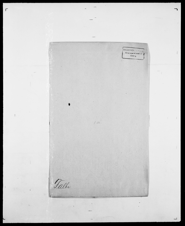 SAO, Delgobe, Charles Antoine - samling, D/Da/L0011: Fahlander - Flood, Flod, s. 16