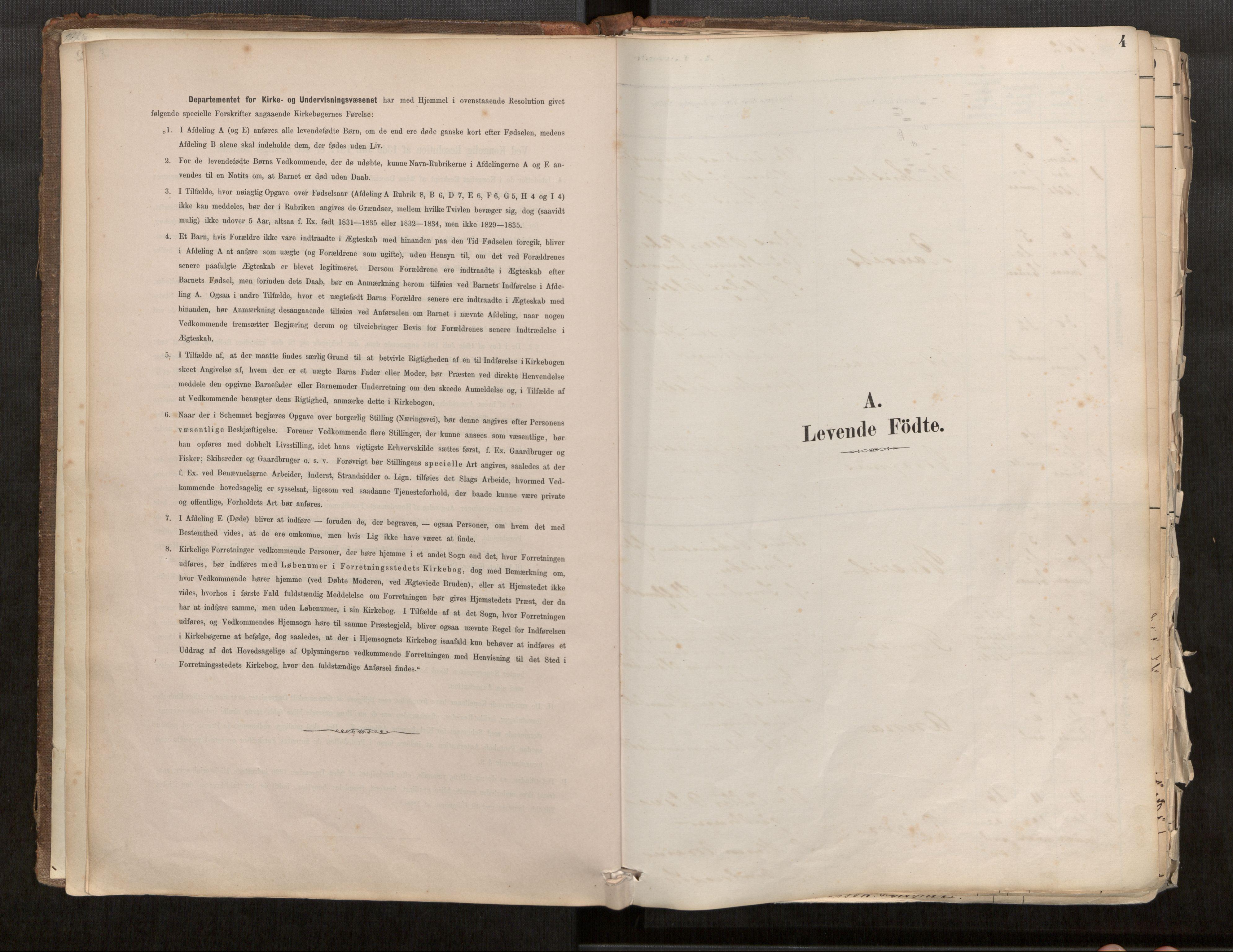 SAT, Sunnylven sokneprestkontor, Ministerialbok nr. 517A08, 1882-1939, s. 4