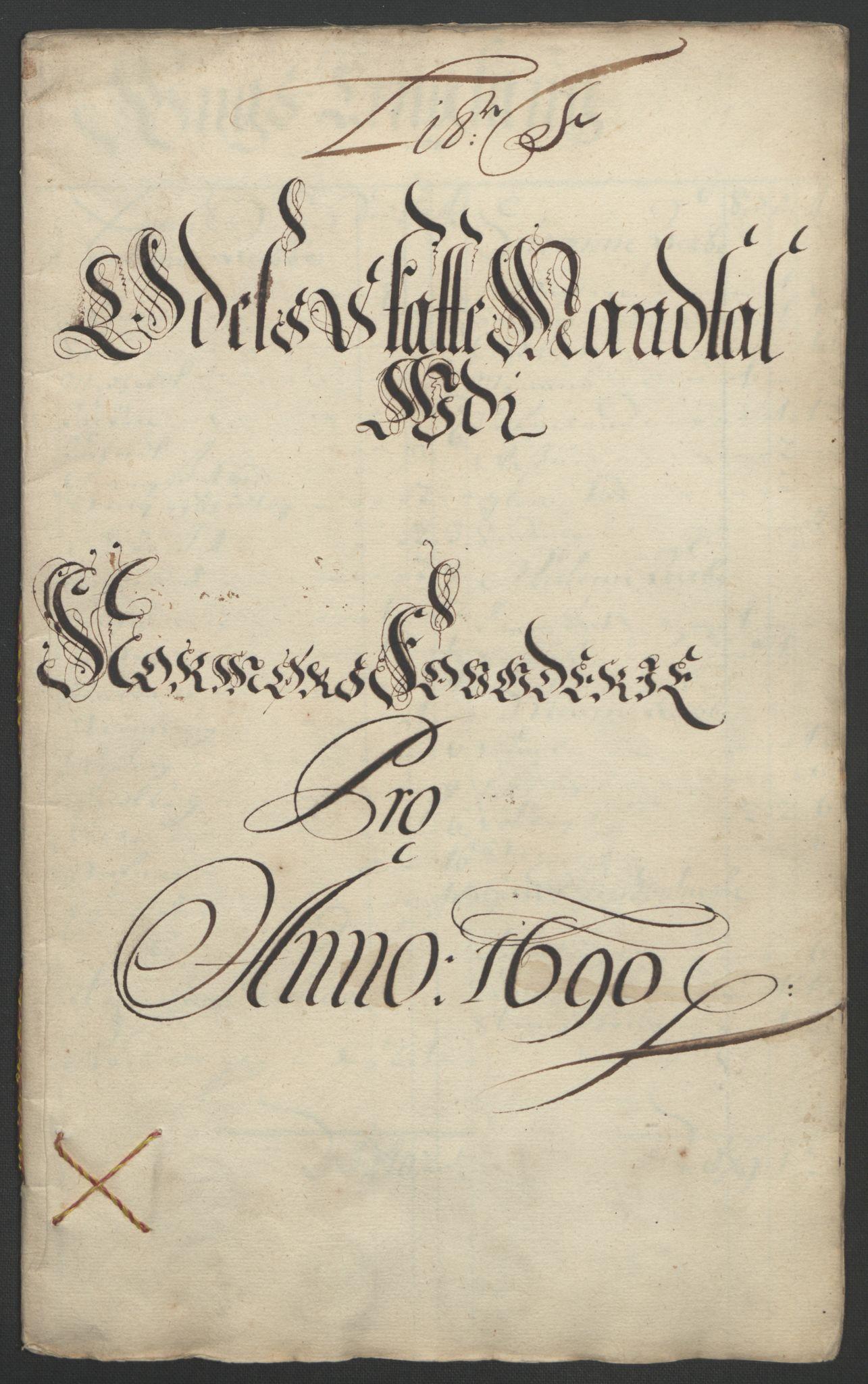 RA, Rentekammeret inntil 1814, Reviderte regnskaper, Fogderegnskap, R56/L3734: Fogderegnskap Nordmøre, 1690-1691, s. 91