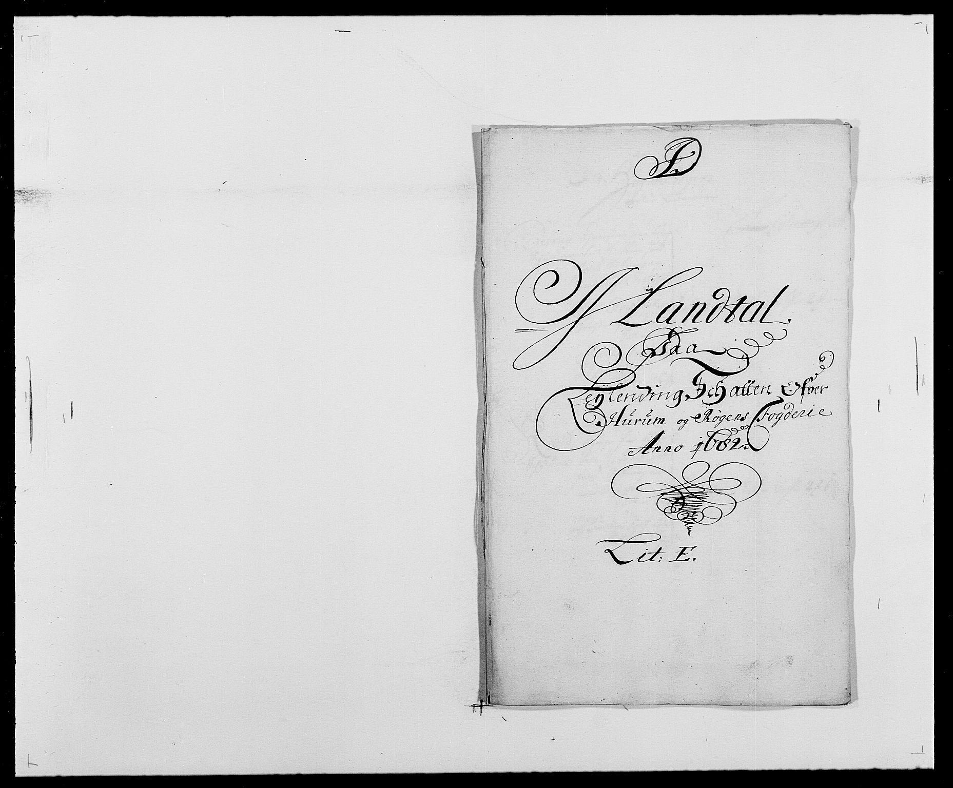 RA, Rentekammeret inntil 1814, Reviderte regnskaper, Fogderegnskap, R29/L1692: Fogderegnskap Hurum og Røyken, 1682-1687, s. 54