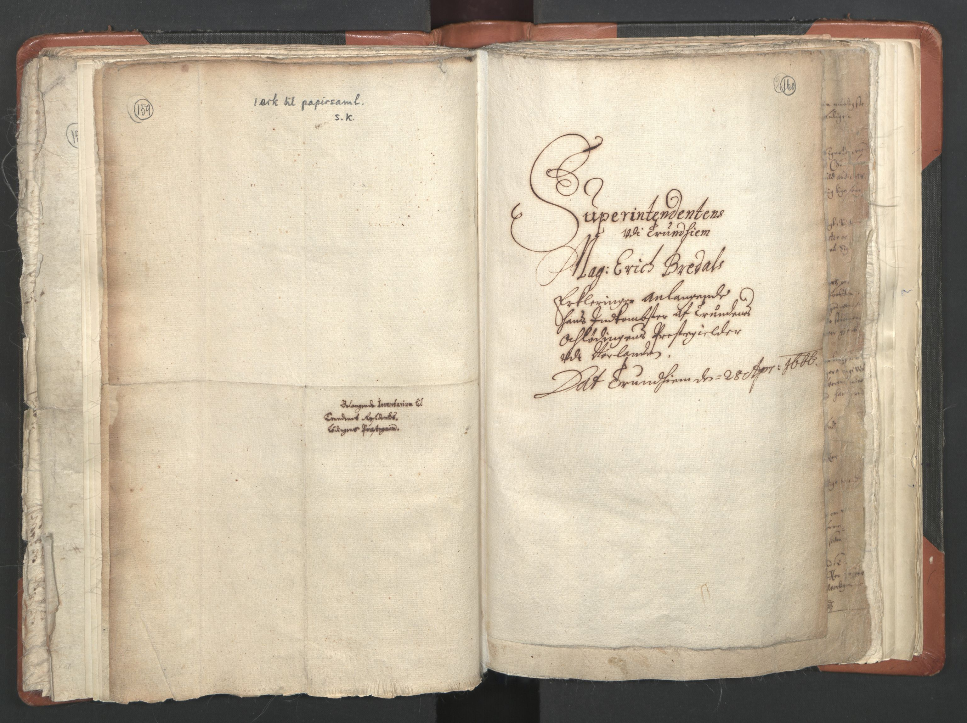 RA, Sogneprestenes manntall 1664-1666, nr. 36: Lofoten og Vesterålen prosti, Senja prosti og Troms prosti, 1664-1666, s. 159-160