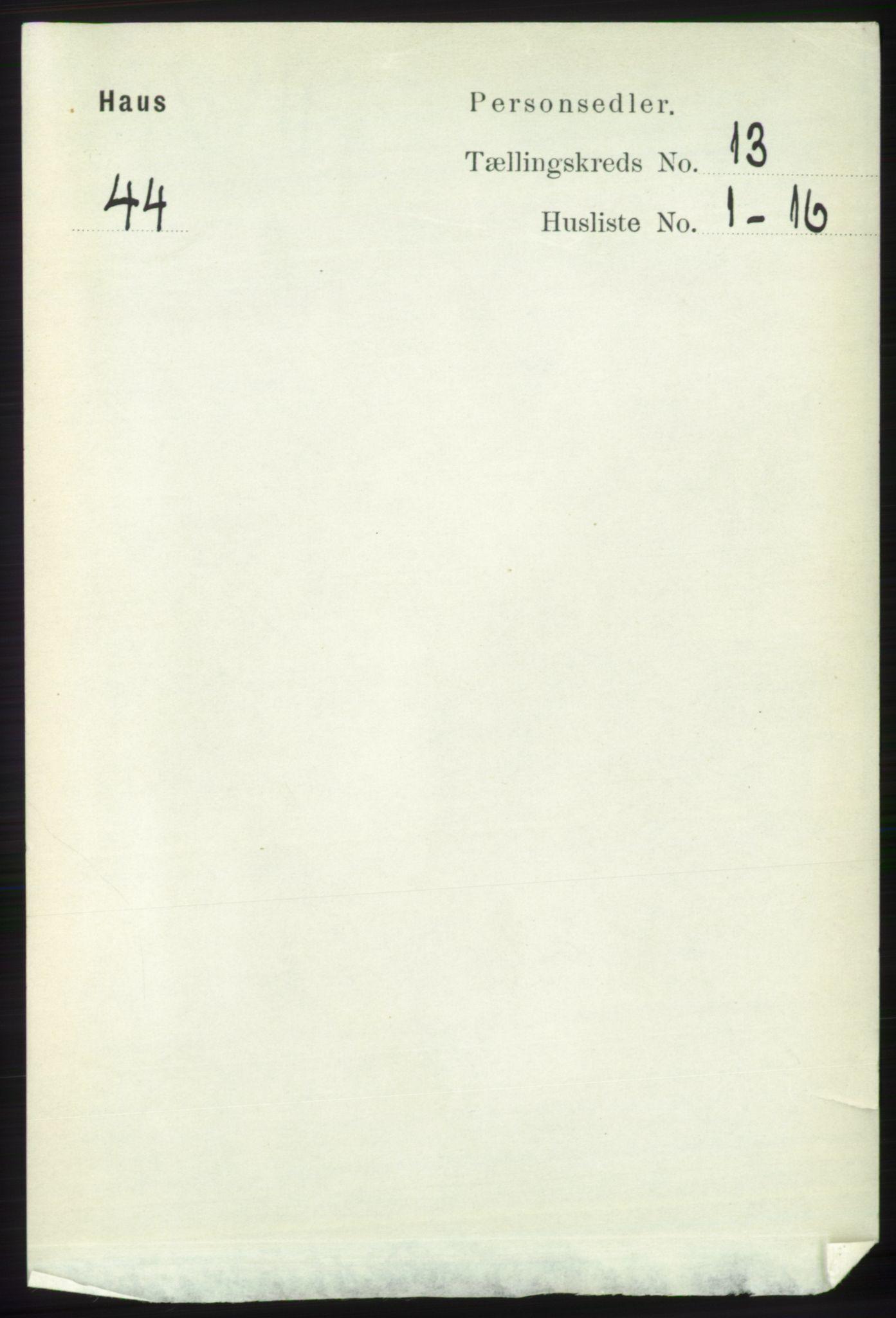RA, Folketelling 1891 for 1250 Haus herred, 1891, s. 5555