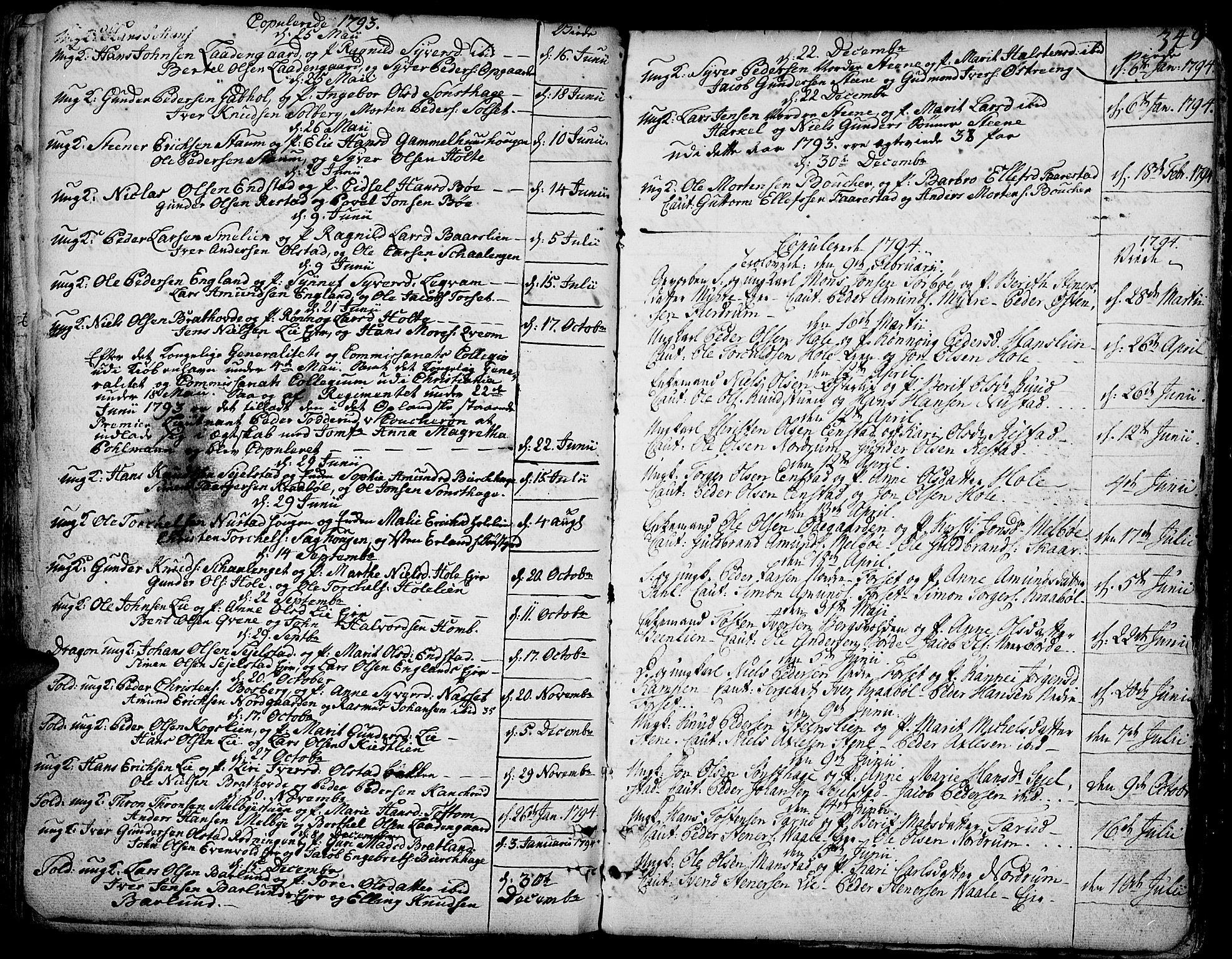 SAH, Gausdal prestekontor, Ministerialbok nr. 3, 1758-1809, s. 349
