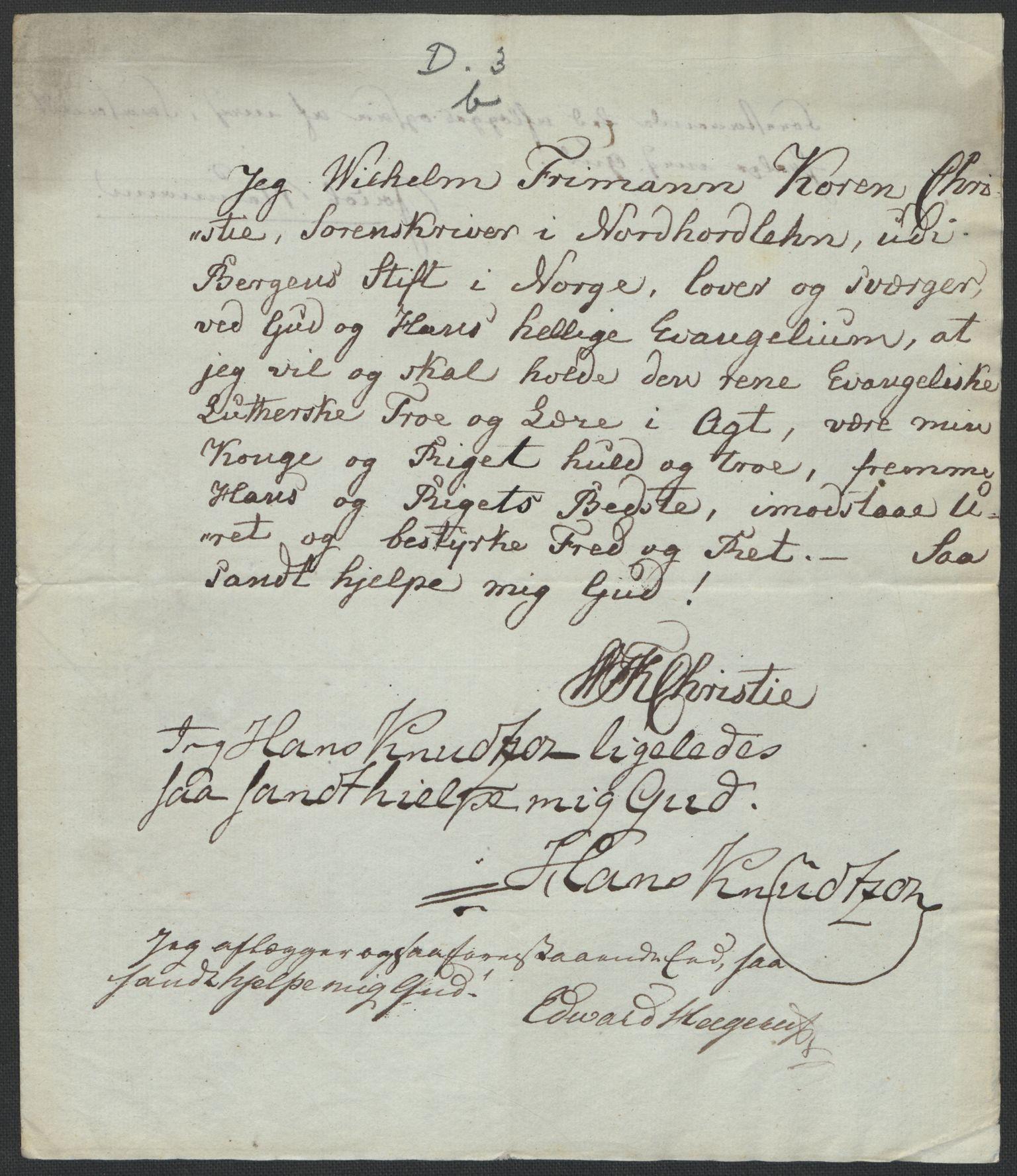 RA, Christie, Wilhelm Frimann Koren, F/L0004, 1814, s. 200