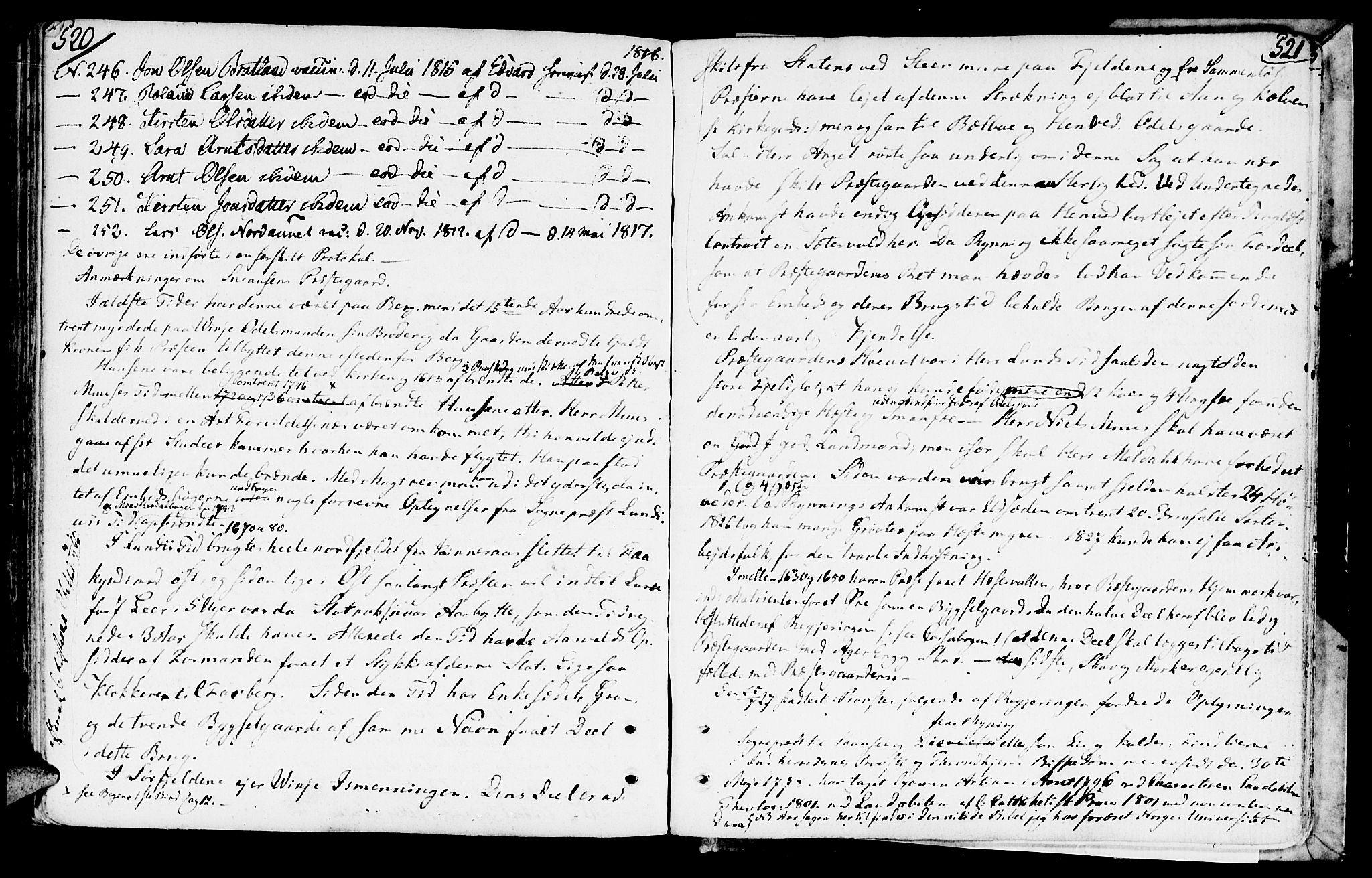 SAT, Ministerialprotokoller, klokkerbøker og fødselsregistre - Nord-Trøndelag, 749/L0468: Ministerialbok nr. 749A02, 1787-1817, s. 520-521