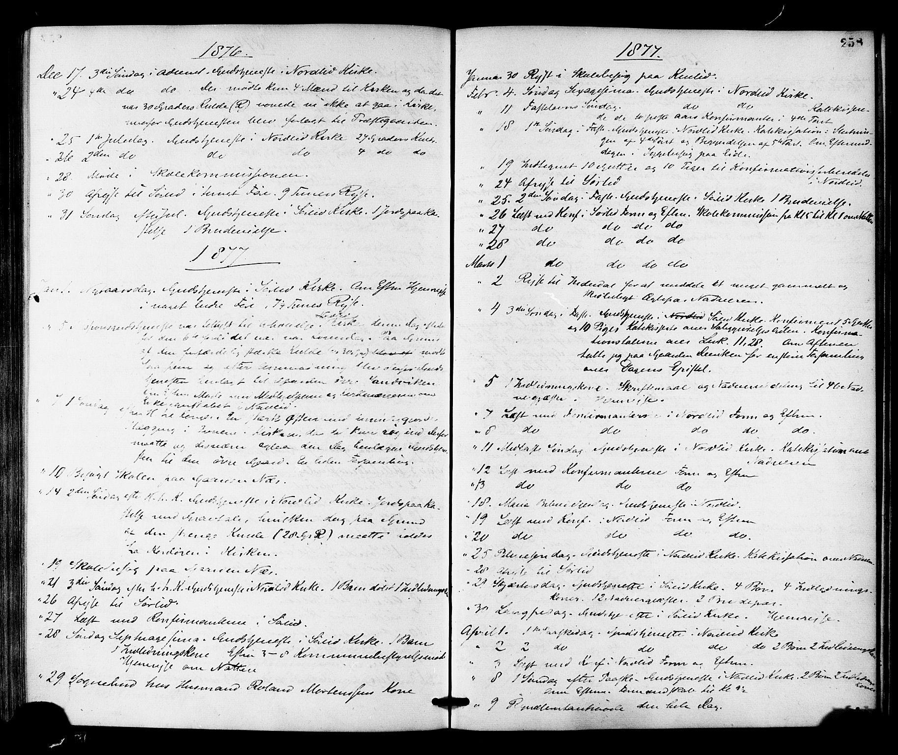 SAT, Ministerialprotokoller, klokkerbøker og fødselsregistre - Nord-Trøndelag, 755/L0493: Ministerialbok nr. 755A02, 1865-1881, s. 258