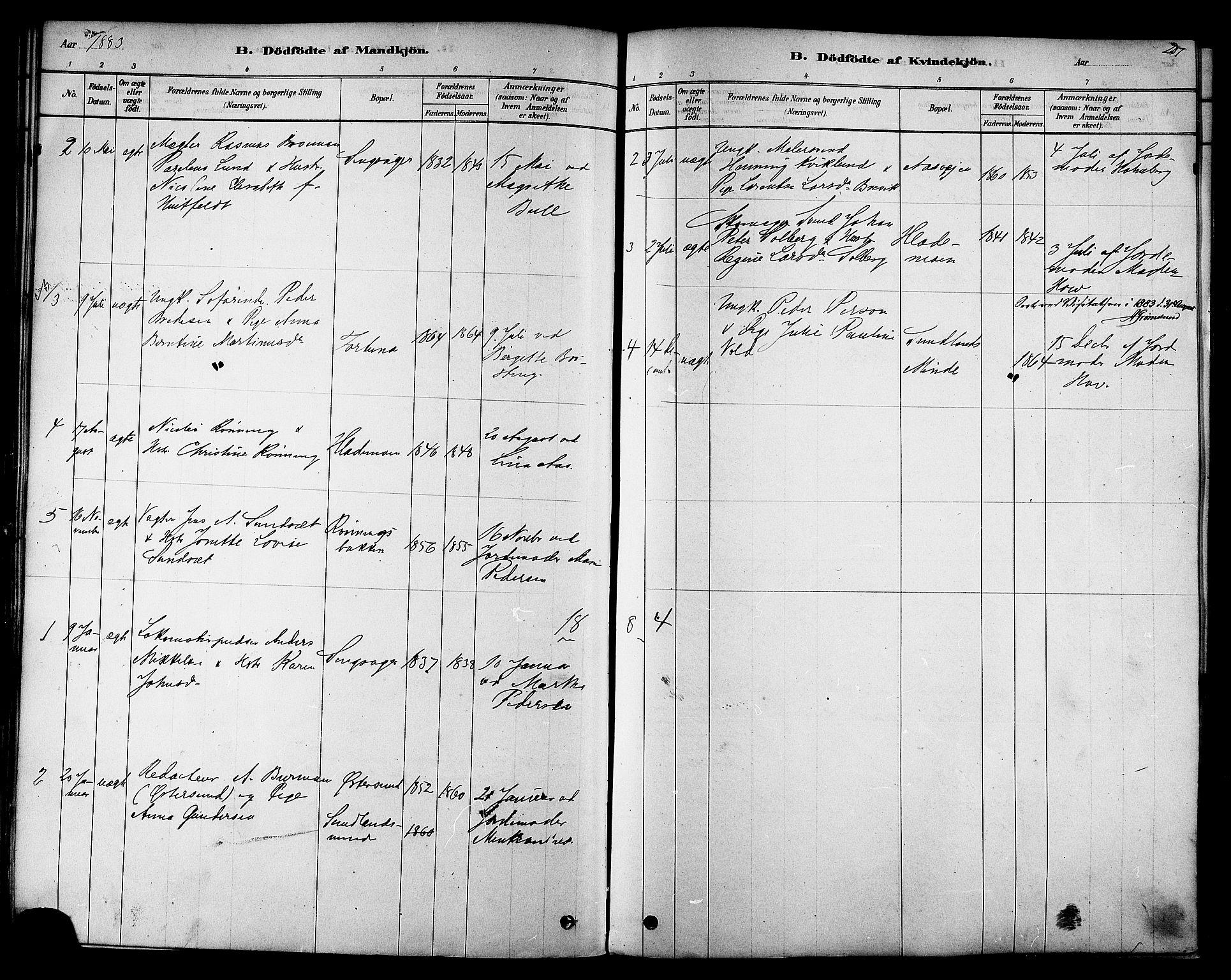 SAT, Ministerialprotokoller, klokkerbøker og fødselsregistre - Sør-Trøndelag, 606/L0294: Ministerialbok nr. 606A09, 1878-1886, s. 207