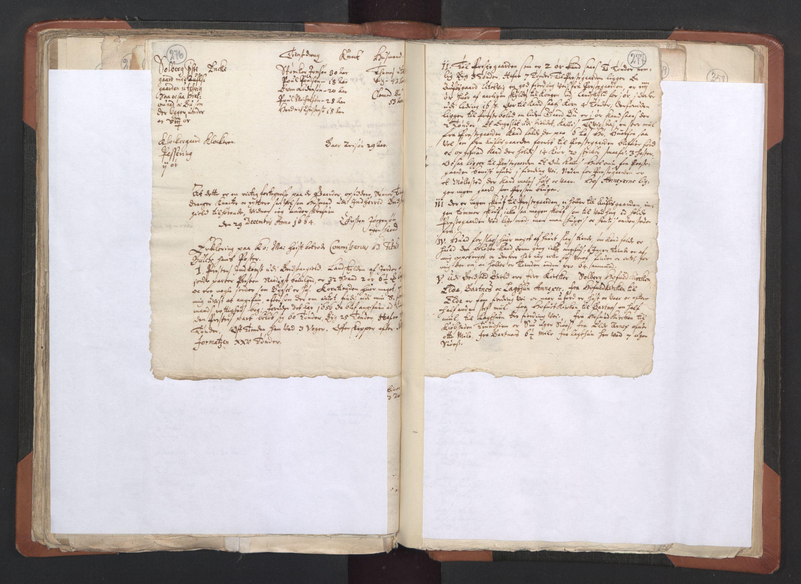 RA, Sogneprestenes manntall 1664-1666, nr. 33: Innherad prosti, 1664-1666, s. 276-277