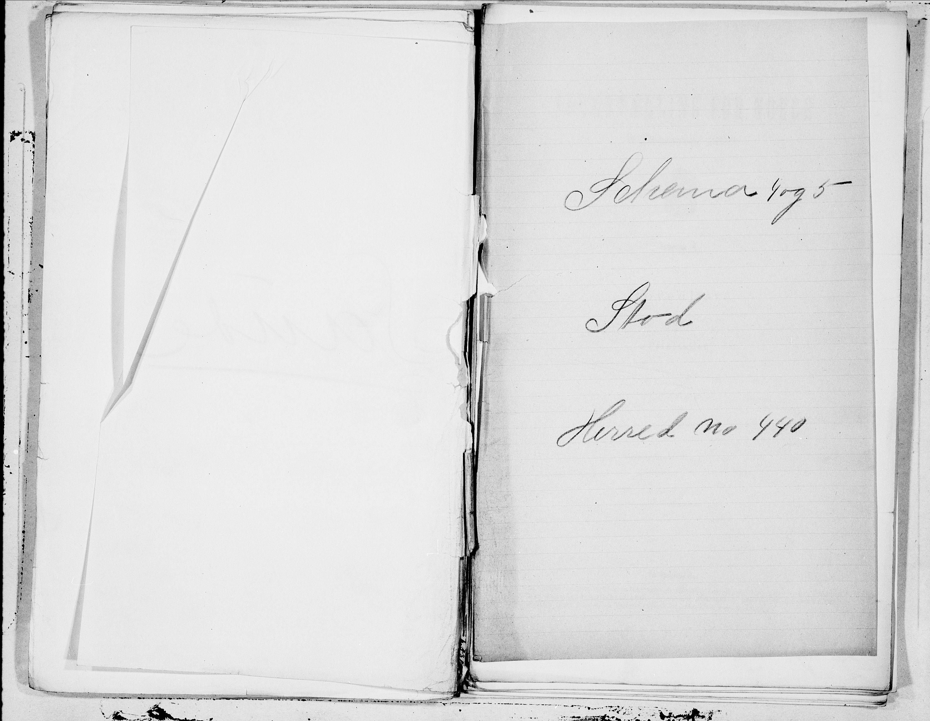 SAT, Folketelling 1900 for 1734 Stod herred, 1900, s. 1