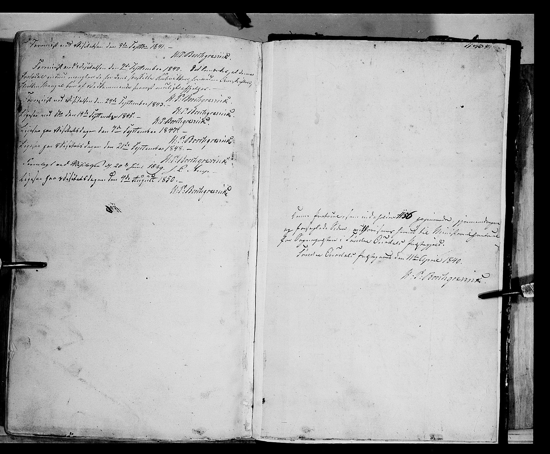 SAH, Sør-Aurdal prestekontor, Ministerialbok nr. 4, 1841-1849, s. 1155-1156