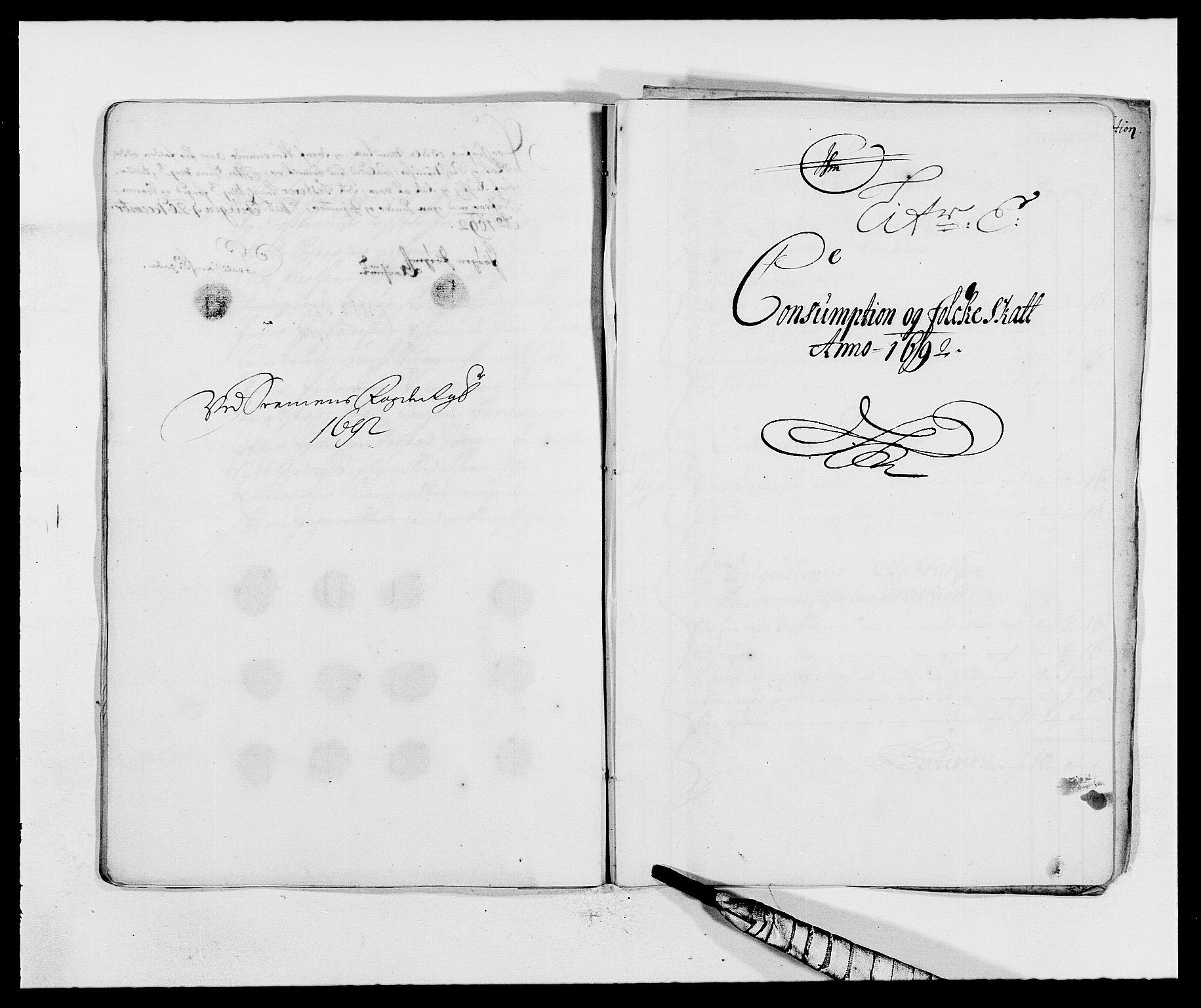 RA, Rentekammeret inntil 1814, Reviderte regnskaper, Fogderegnskap, R68/L4752: Fogderegnskap Senja og Troms, 1691-1693, s. 205
